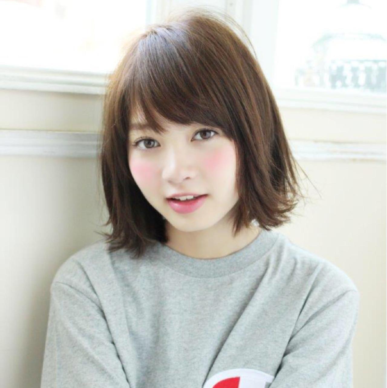 大人かわいい 大人女子 切りっぱなし 色気 ヘアスタイルや髪型の写真・画像   切りっぱなしレイヤー&パーマ Un ami 増永 / Un ami omotesando