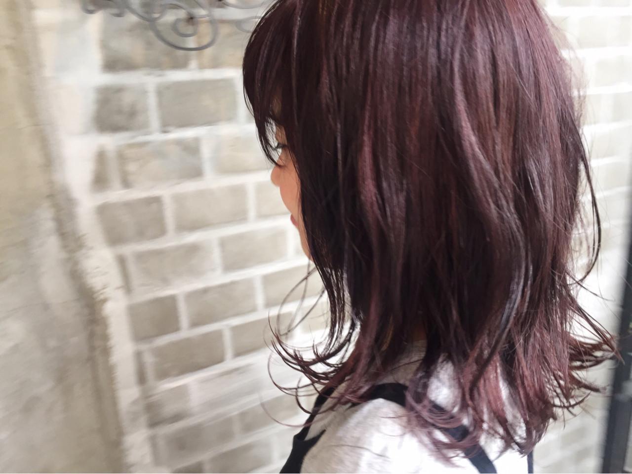 ブリーチ ダブルカラー ハイライト ピンクヘアスタイルや髪型の写真・画像