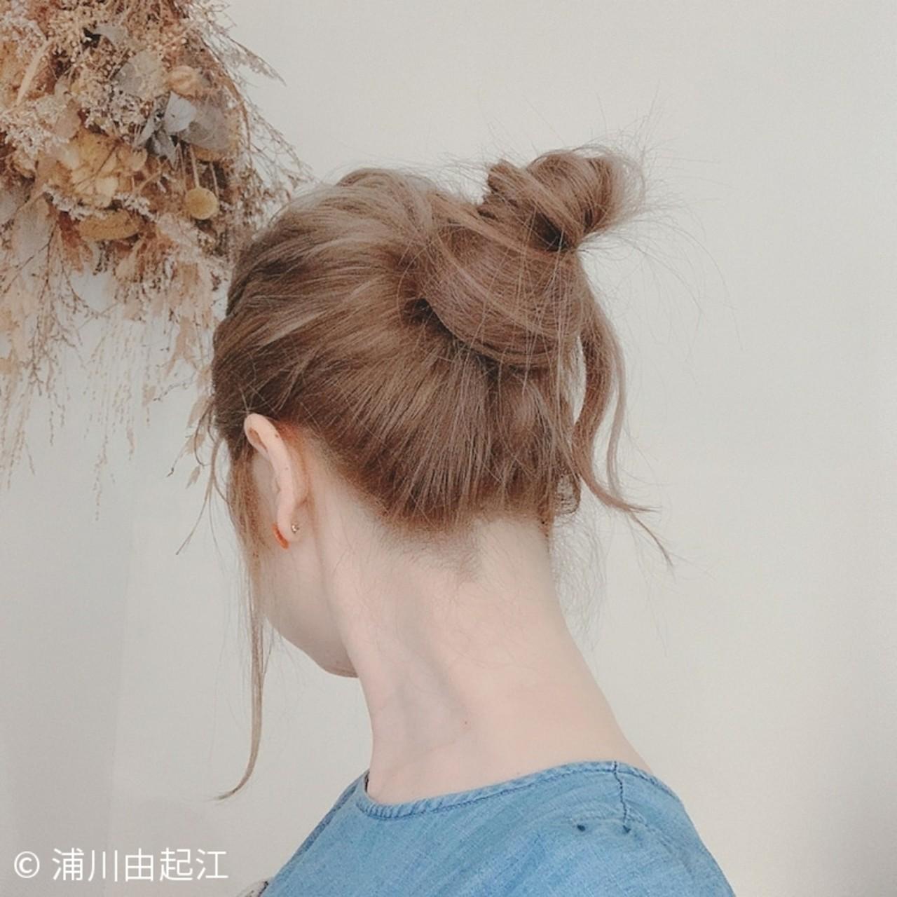 デート モテ髪 ヘアアレンジ ロング ヘアスタイルや髪型の写真・画像   浦川由起江 / nanon