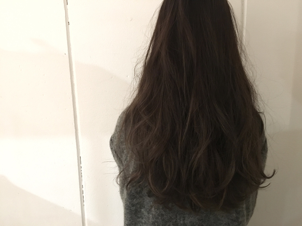 暗髪 ハイライト 外国人風 ロング ヘアスタイルや髪型の写真・画像 | 杉谷 将也 / DiLL / DiLL