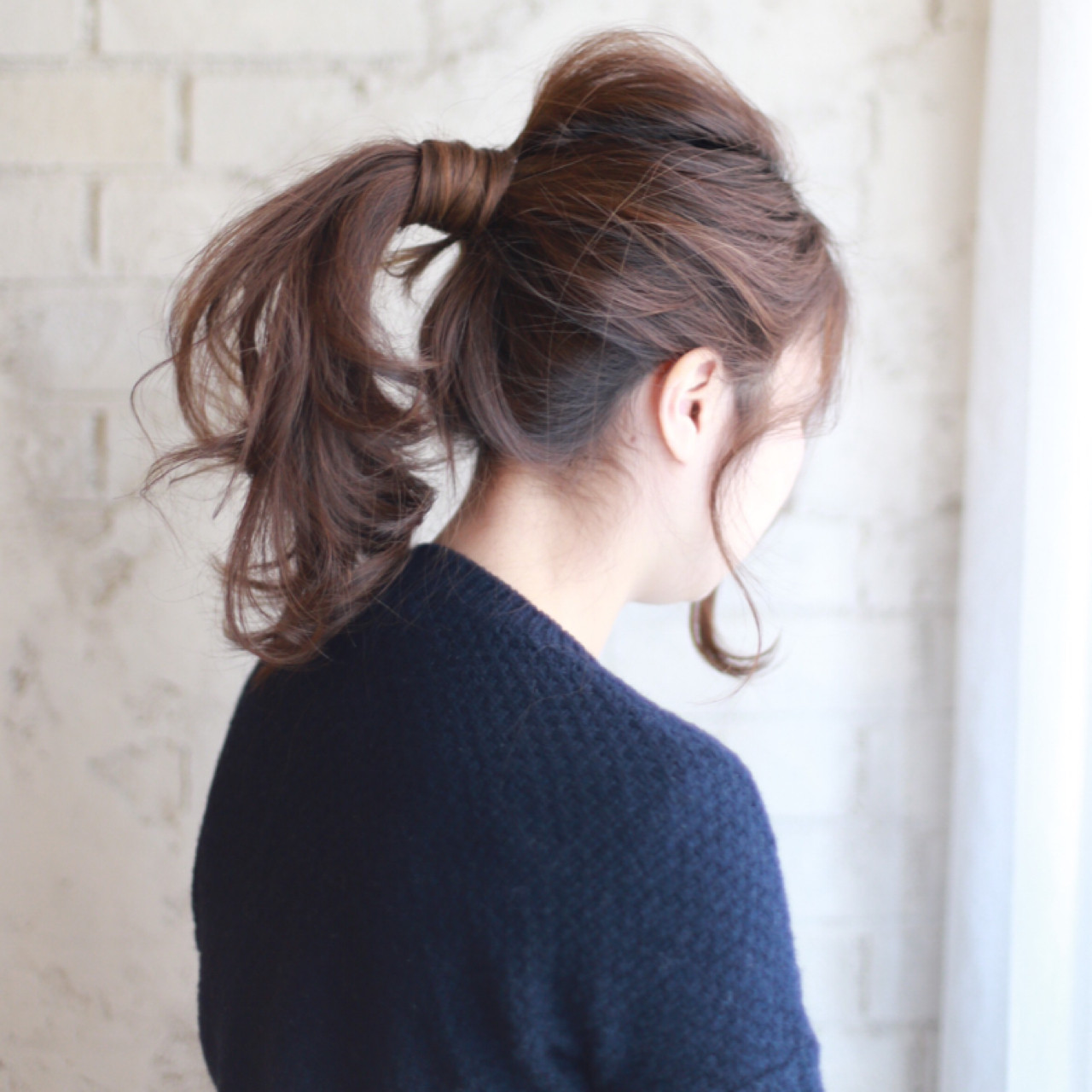 伸ばしかけでもかわいい!忙しい朝の ポニーテール 谷本将太 nalu hair