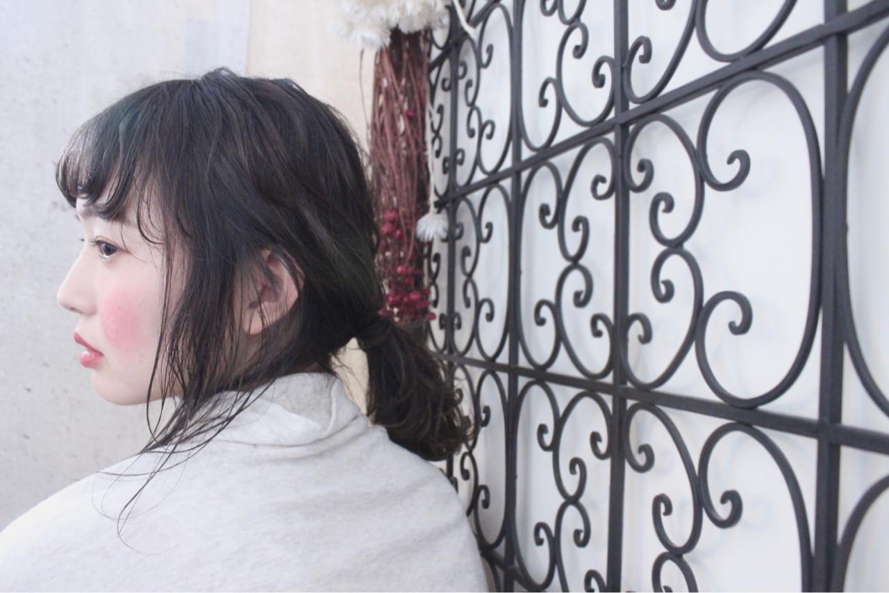 外国人風 簡単ヘアアレンジ アンニュイ 秋 ヘアスタイルや髪型の写真・画像 | 上田智久 / ooit 福岡 天神 / ooit
