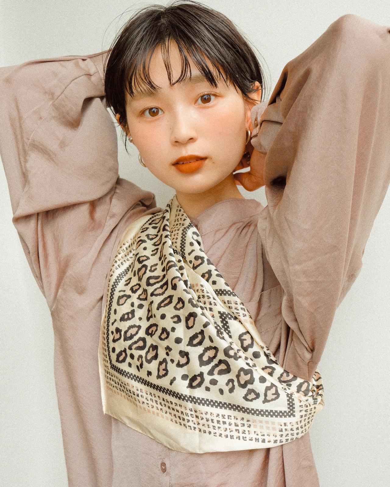 ナチュラル ショート デート アウトドア ヘアスタイルや髪型の写真・画像 | YUJI / LIICHI / LIICHI (リイチ)