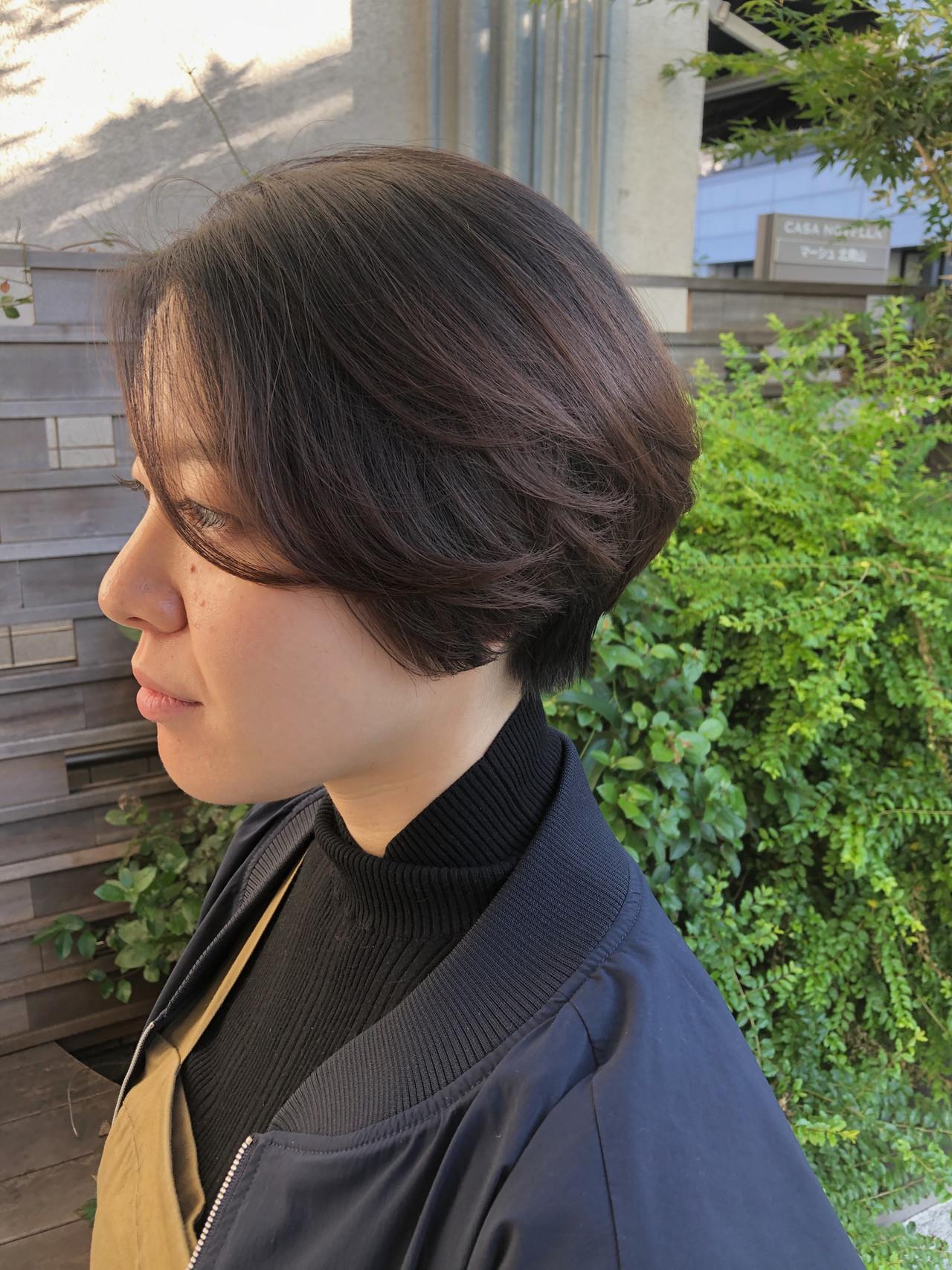 ショート ショートカット 大人ショート マッシュショート ヘアスタイルや髪型の写真・画像 | 小林 優介 / ASSORT TOKYO