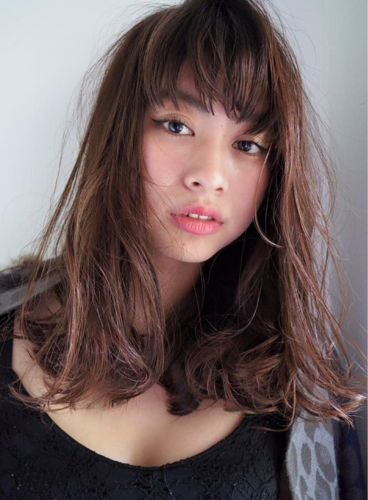 ゆるふわ パーマ 前髪あり ボブ ヘアスタイルや髪型の写真・画像 | Keiichi Suzuki/鈴木圭一 / CALVINA&LOWE