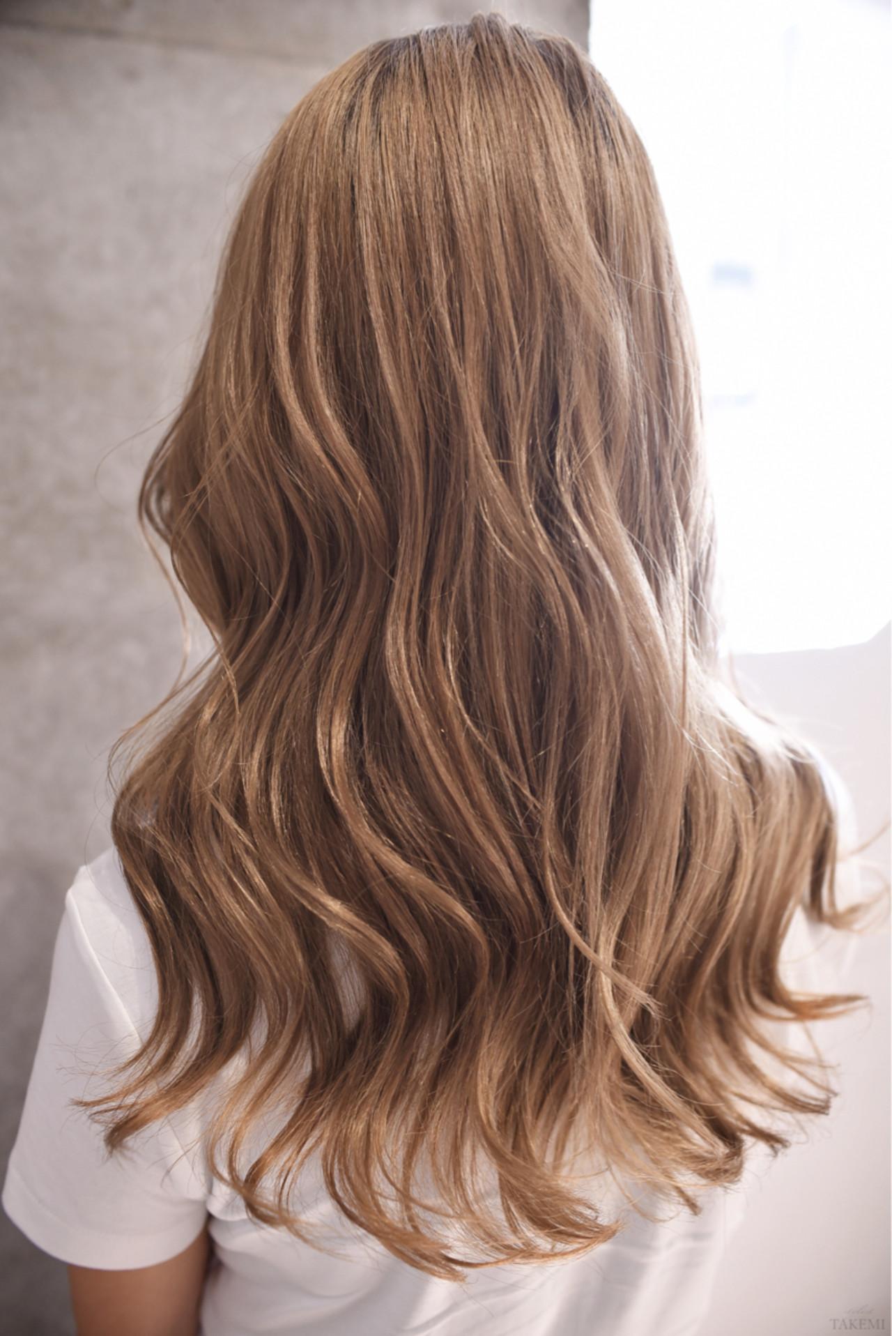 グラデーションカラー ハイライト ガーリー ダブルカラー ヘアスタイルや髪型の写真・画像   TAKEMI / BEBE 表参道