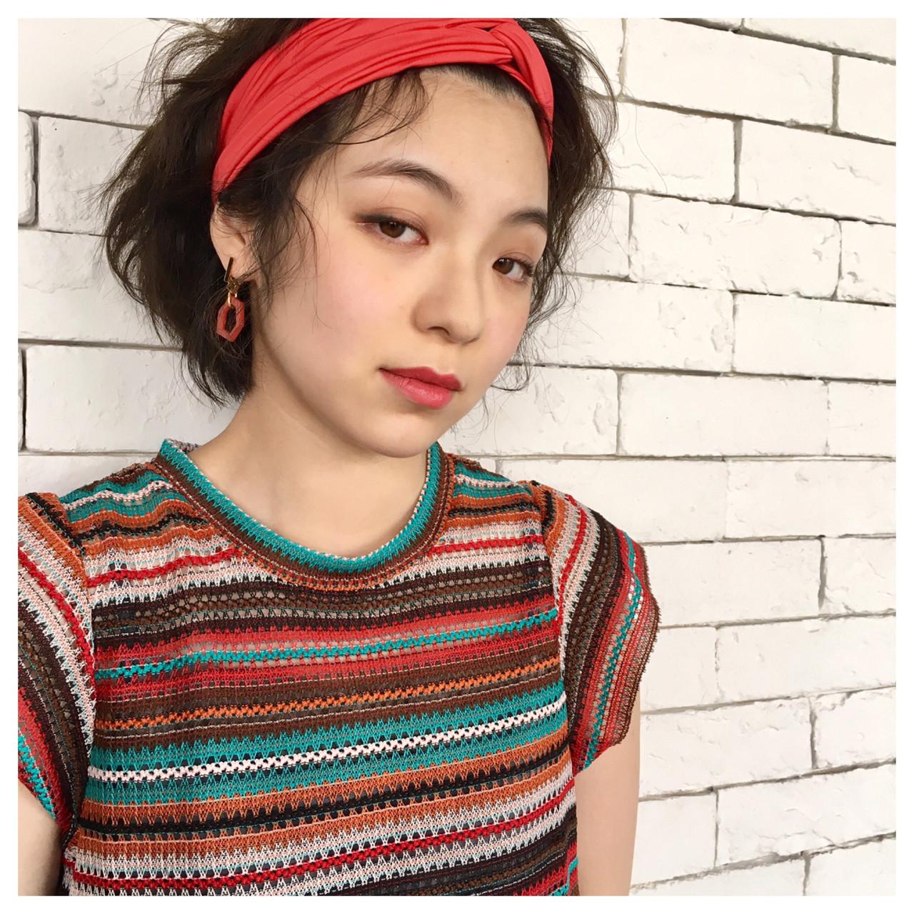 夏 大人かわいい 簡単ヘアアレンジ ナチュラル ヘアスタイルや髪型の写真・画像 | Yumi Hiramatsu / Sourire Imaizumi【スーリール イマイズミ】