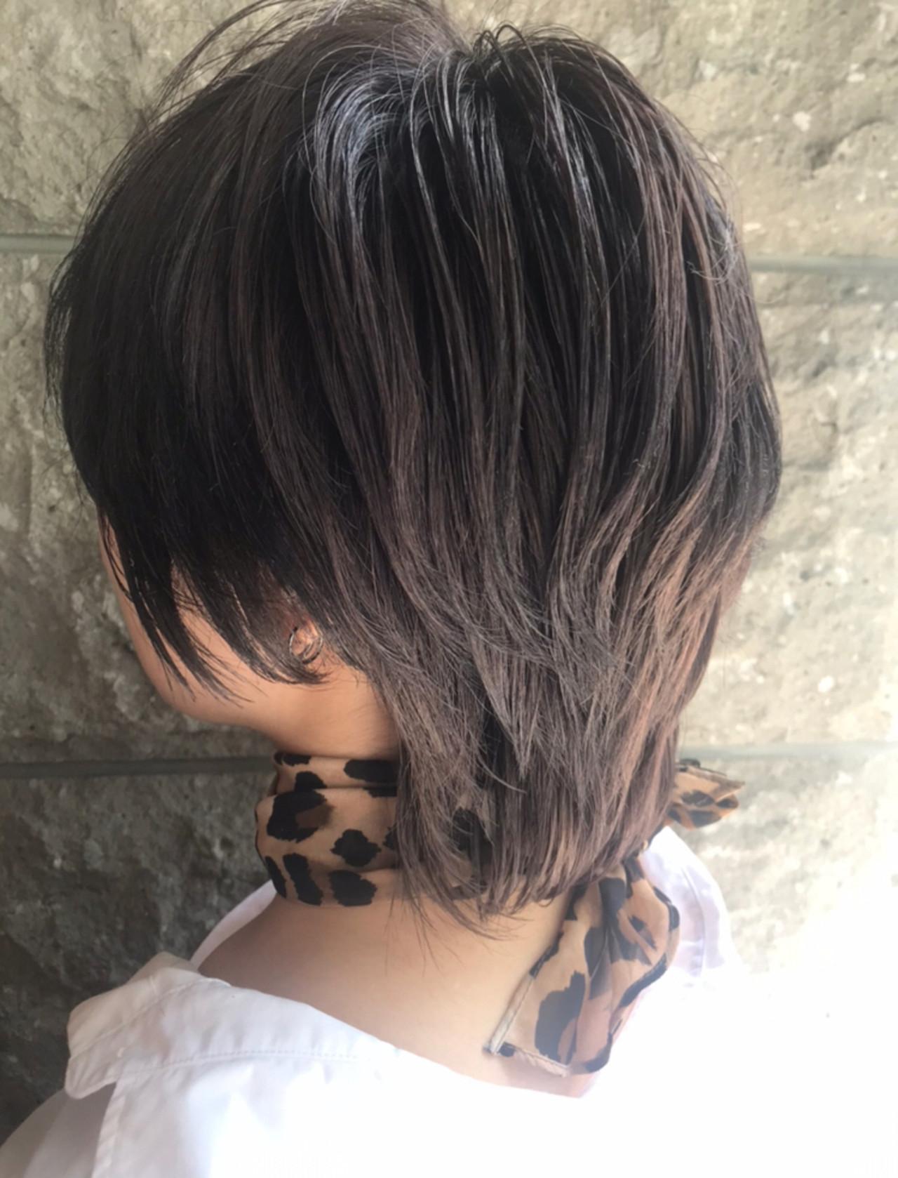 ストリート デート 韓国 オフィス ヘアスタイルや髪型の写真・画像   村井優紀 / FITS CORE フィッツコア