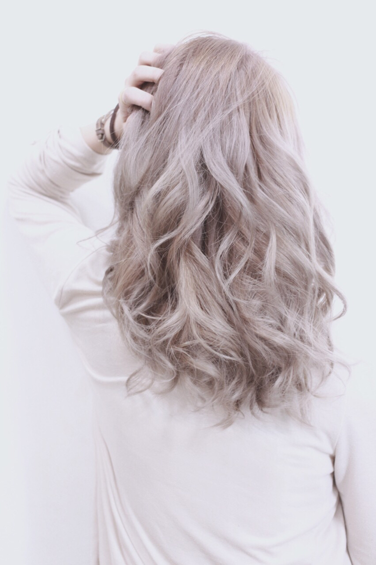透明感 渋谷系 アッシュ ミディアム ヘアスタイルや髪型の写真・画像 | Director AKI☆ / hairTRUTH