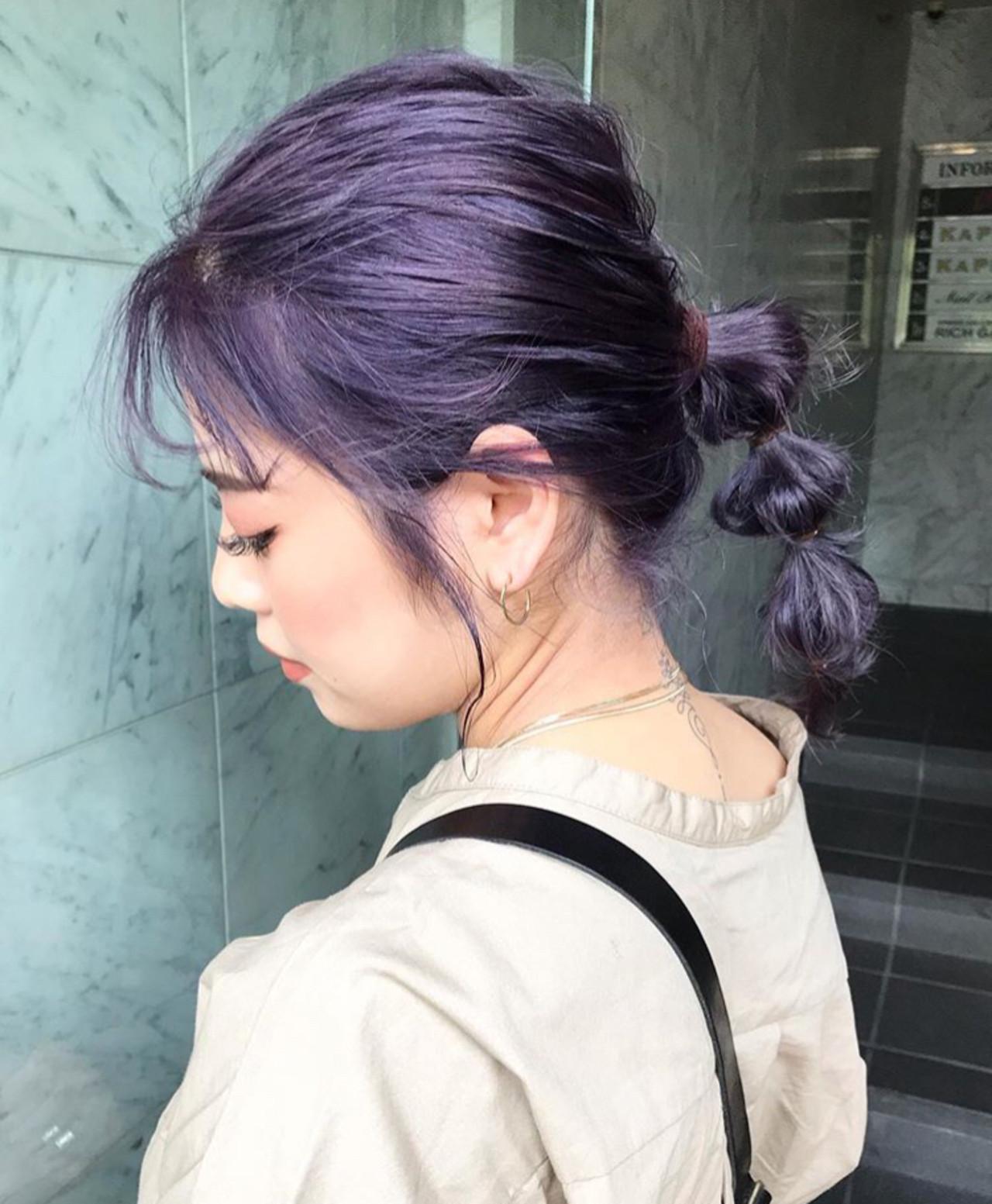ハイトーンカラー 韓国ヘア 透明感カラー ストリート ヘアスタイルや髪型の写真・画像 | yoshiki / float 天神橋
