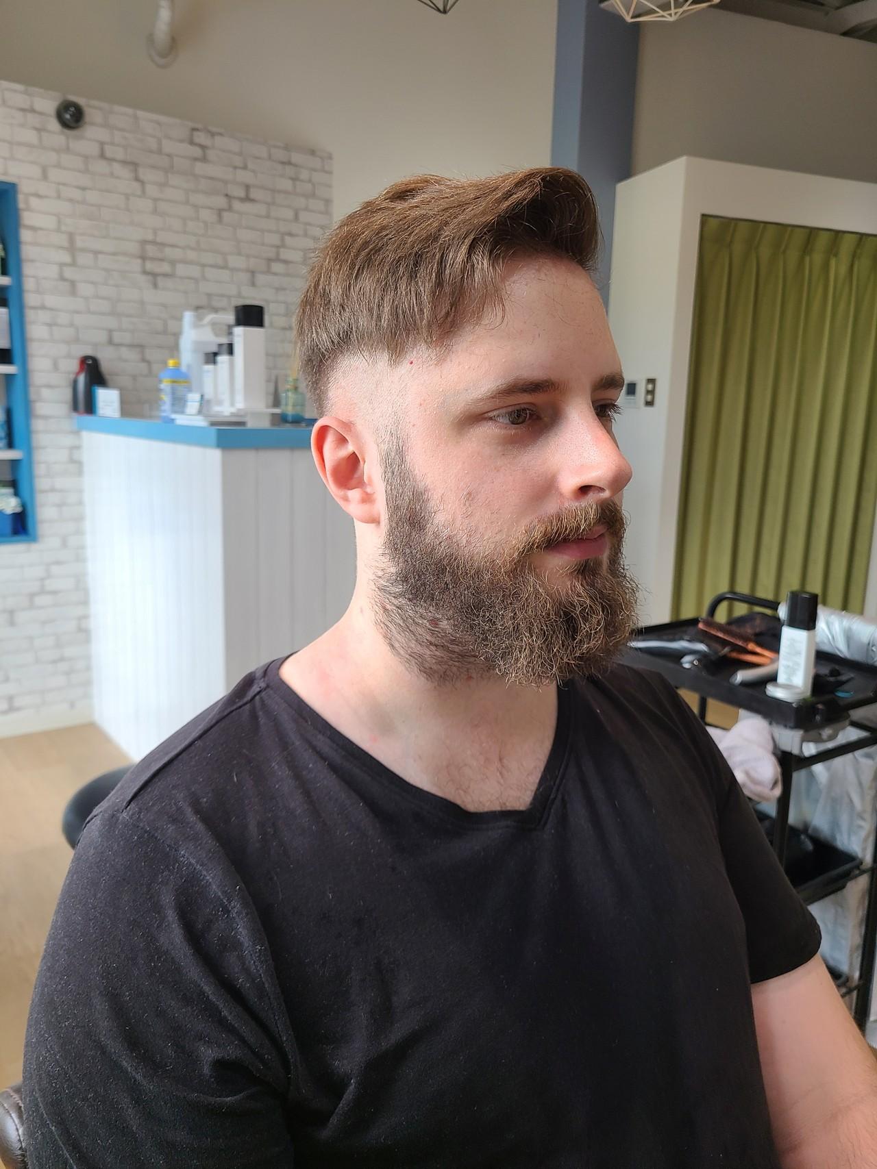 ショート ストリート メンズ メンズヘア ヘアスタイルや髪型の写真・画像 | 【艶髪・透明感美容師】せのまさる / ヘアー・メイク・コラソン