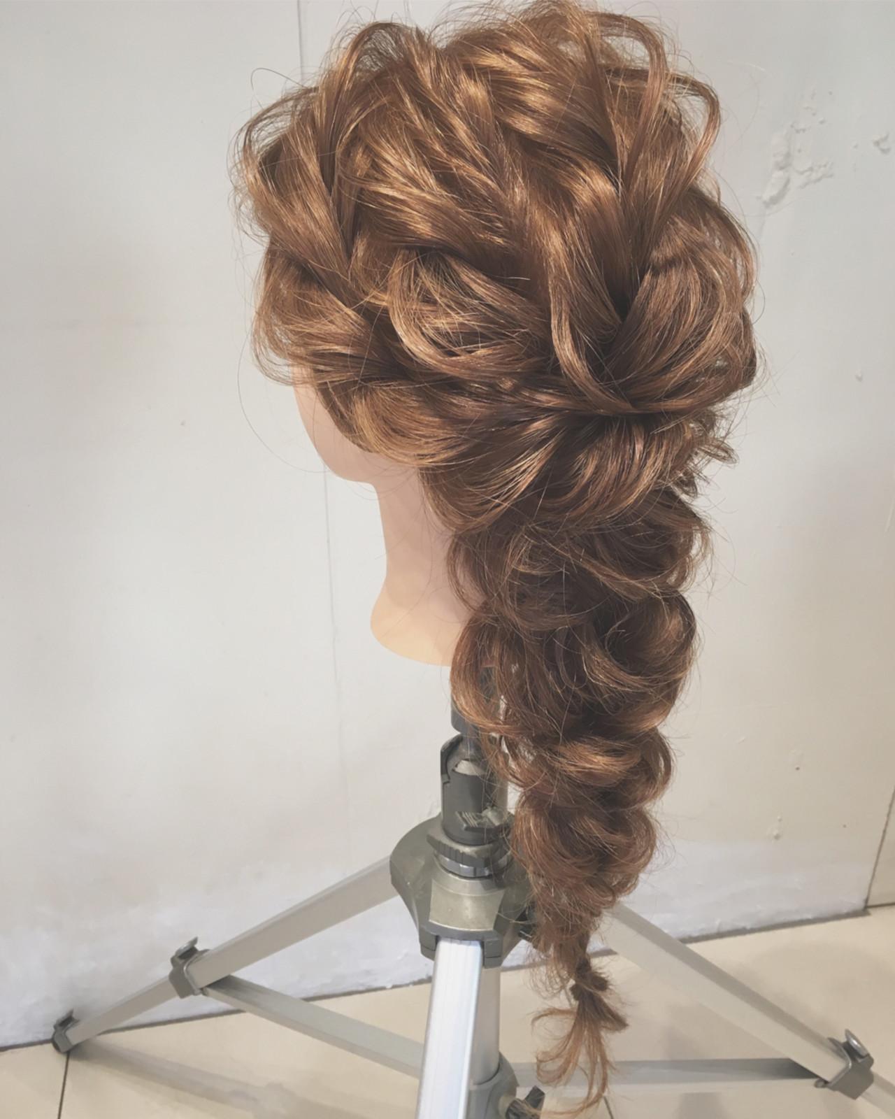 エレガント 結婚式 大人かわいい ゆるふわヘアスタイルや髪型の写真・画像