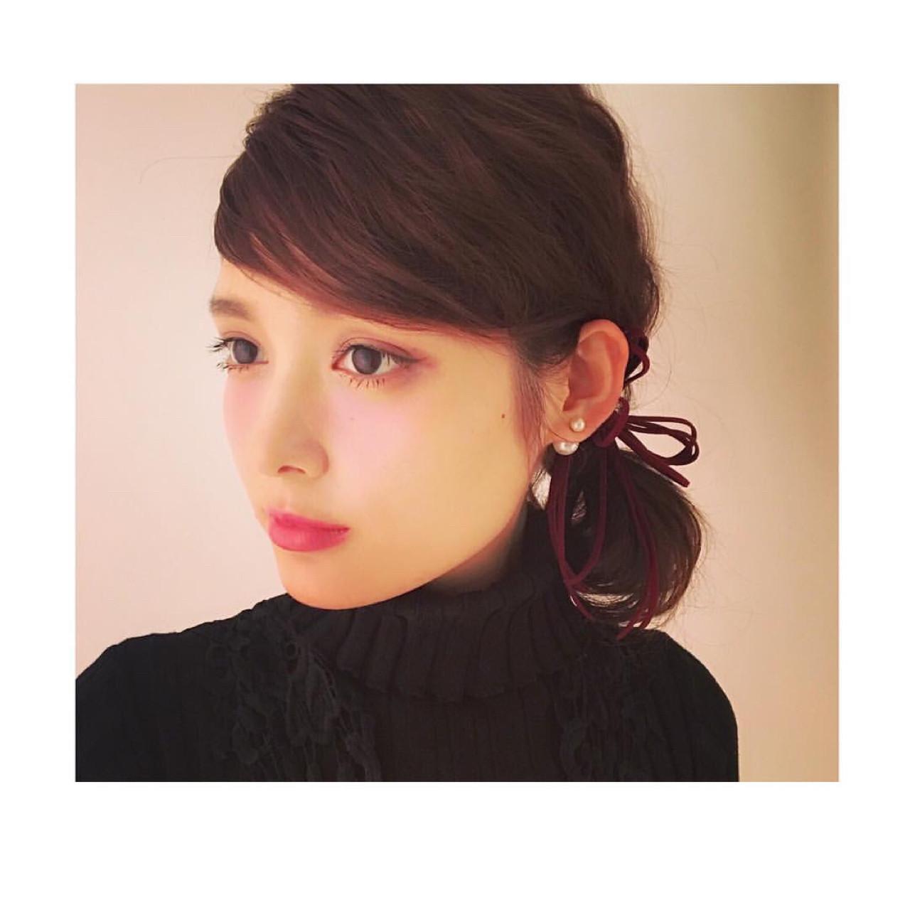ミディアム フェミニン 前髪あり 外国人風 ヘアスタイルや髪型の写真・画像 | 石川 琴允 /