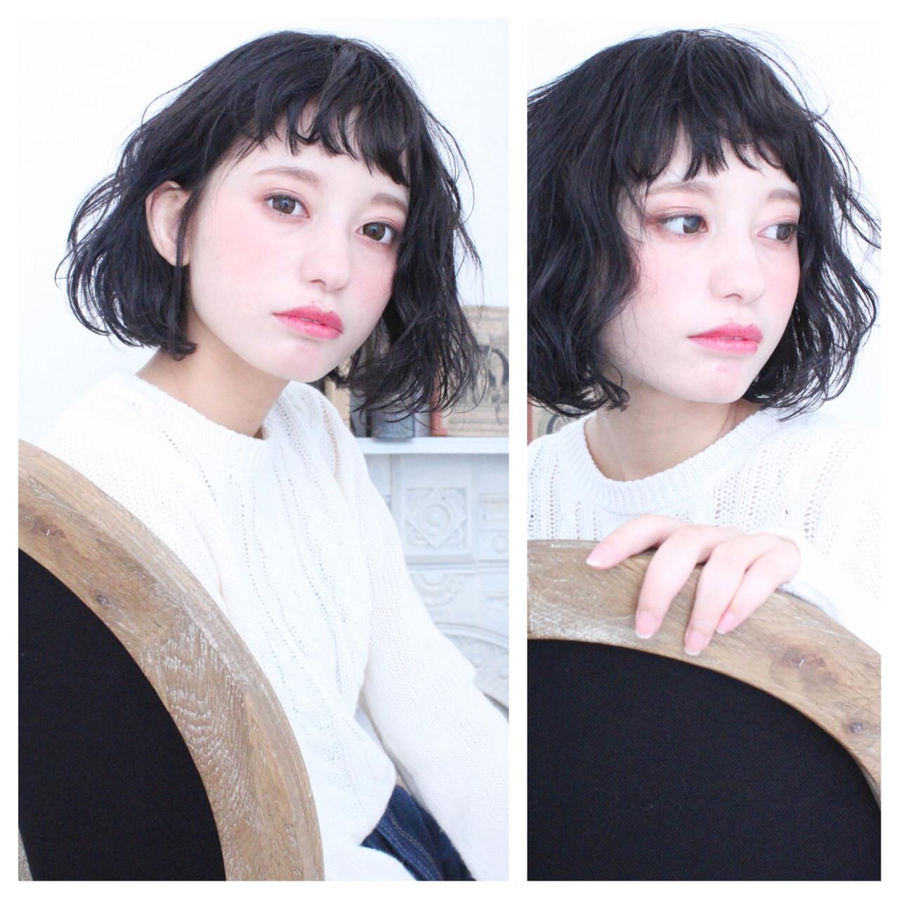【スタイル特集】印象派美人になれる髪型=黒髪ショート×パーマスタイル? 上田智久 LaRica