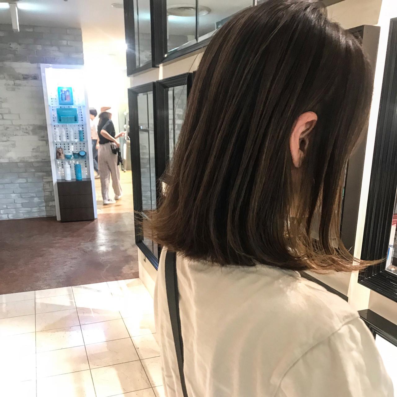 大人かわいい 涼しげ デート オフィス ヘアスタイルや髪型の写真・画像   yumiko/sapporoSKNOW / SKNOW