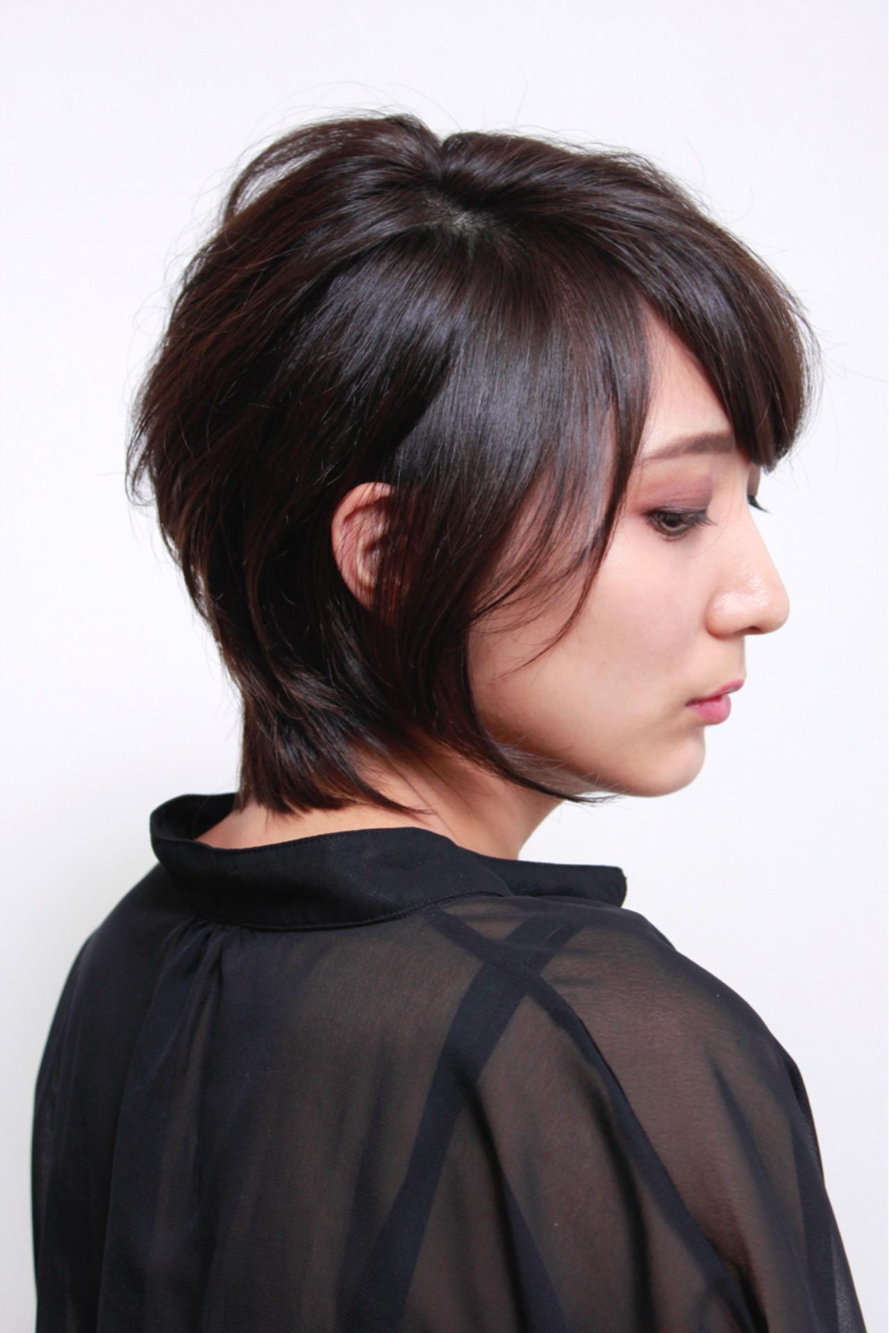 上品 ウルフカット 似合わせ マッシュ ヘアスタイルや髪型の写真・画像 | Yoshiya Kadota / NYNY 大久保店