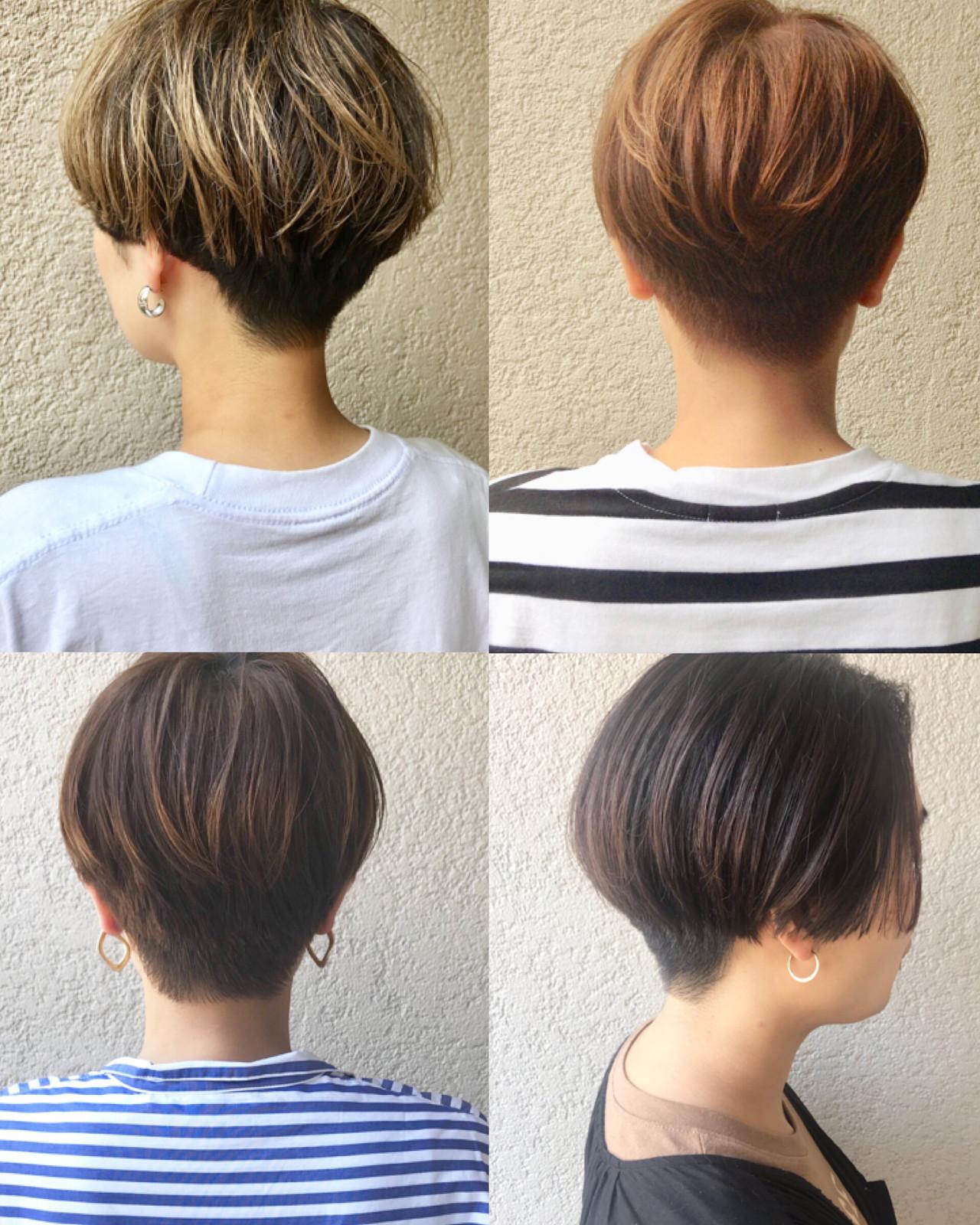 スポーツ アウトドア ショートヘア 刈り上げショート ヘアスタイルや髪型の写真・画像 | 富永暁子 / SUMMER