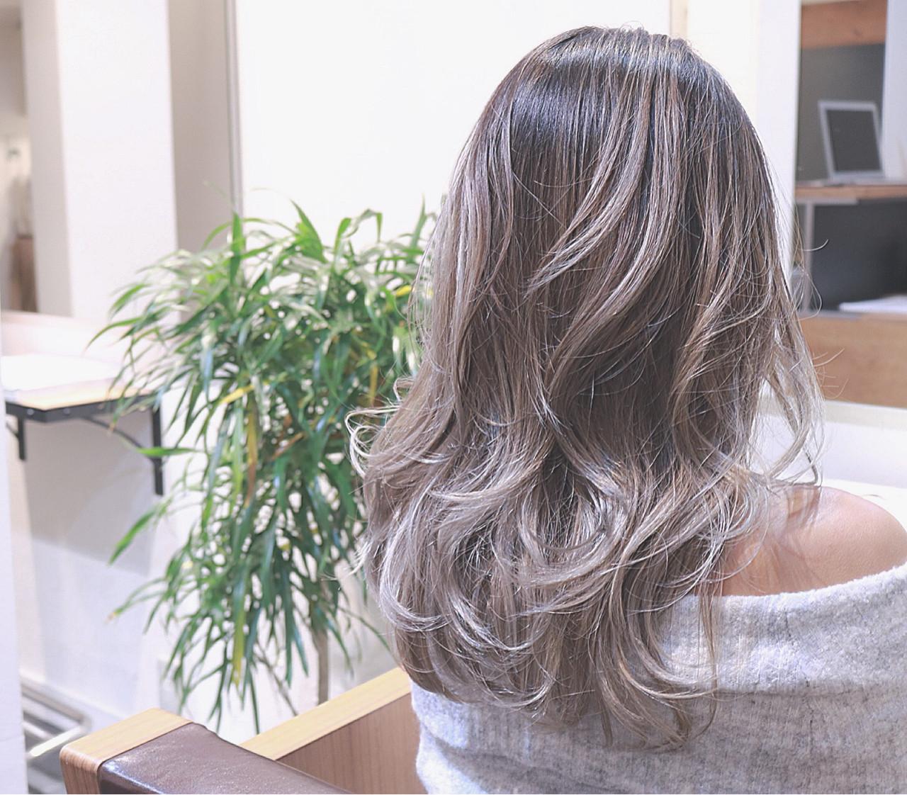ストリート 外国人風 ホワイト ハイライト ヘアスタイルや髪型の写真・画像 | RUMINA //高田ゆみこ / Rumina