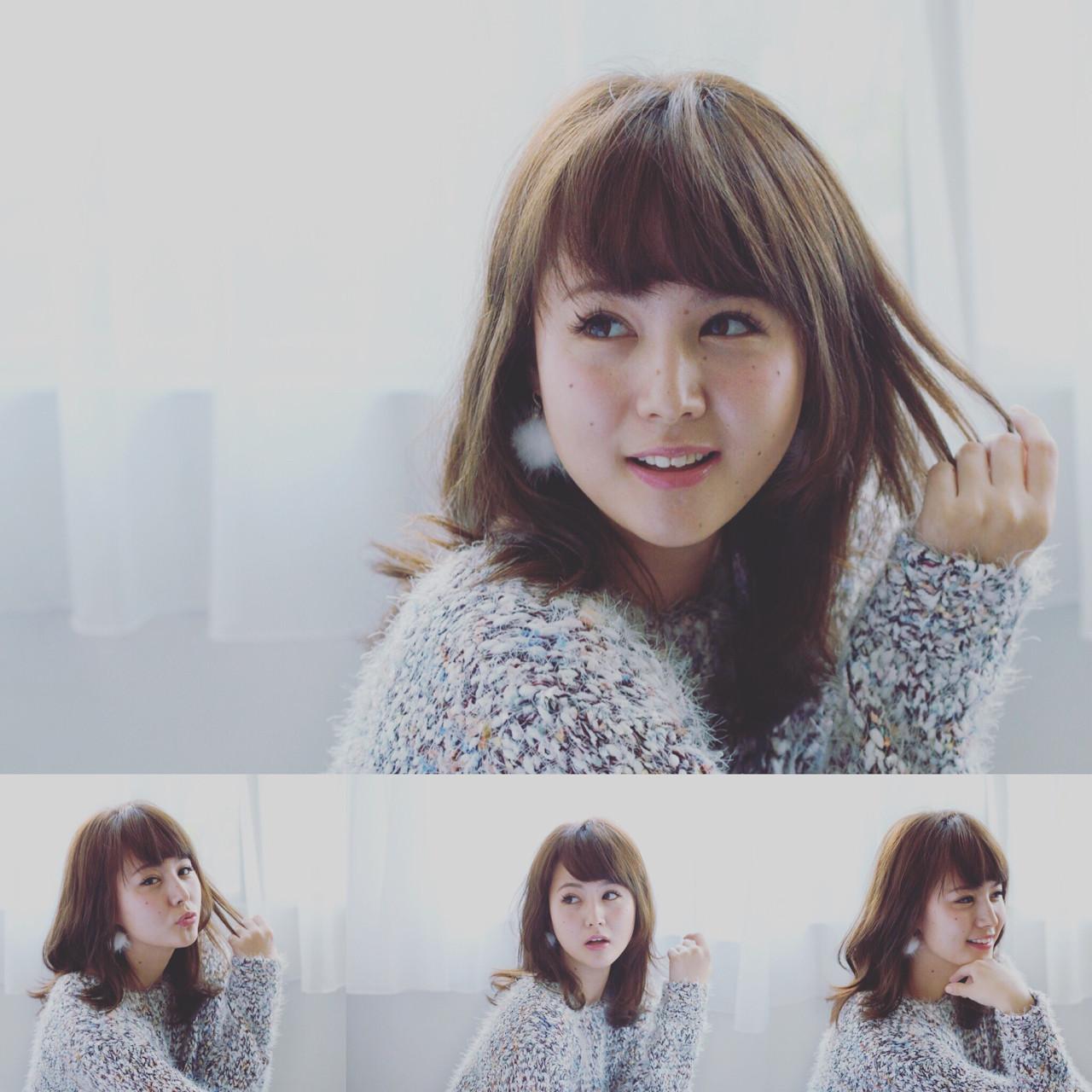 大人かわいい フェミニン アッシュ グラデーションカラー ヘアスタイルや髪型の写真・画像 | mika / anteprima