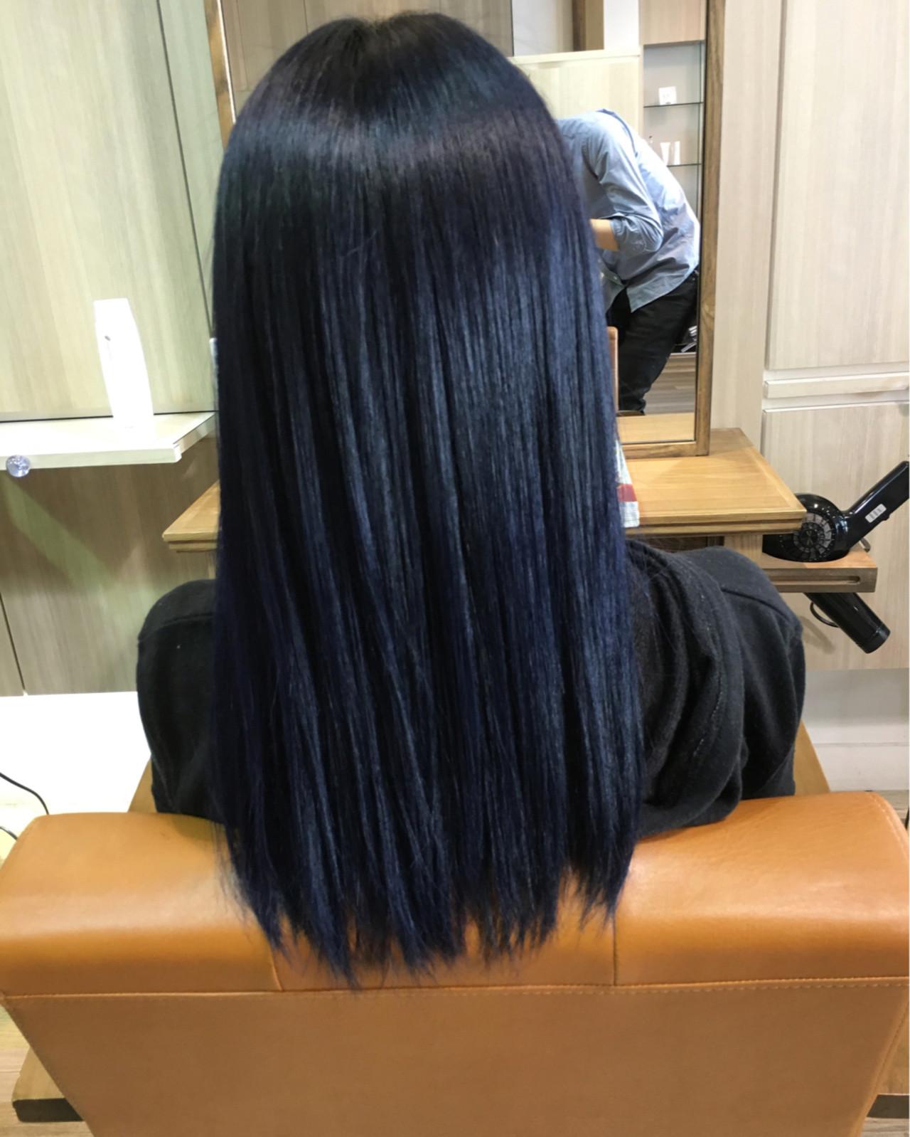 アッシュ ガーリー ジェンダーレス グラデーションカラーヘアスタイルや髪型の写真・画像