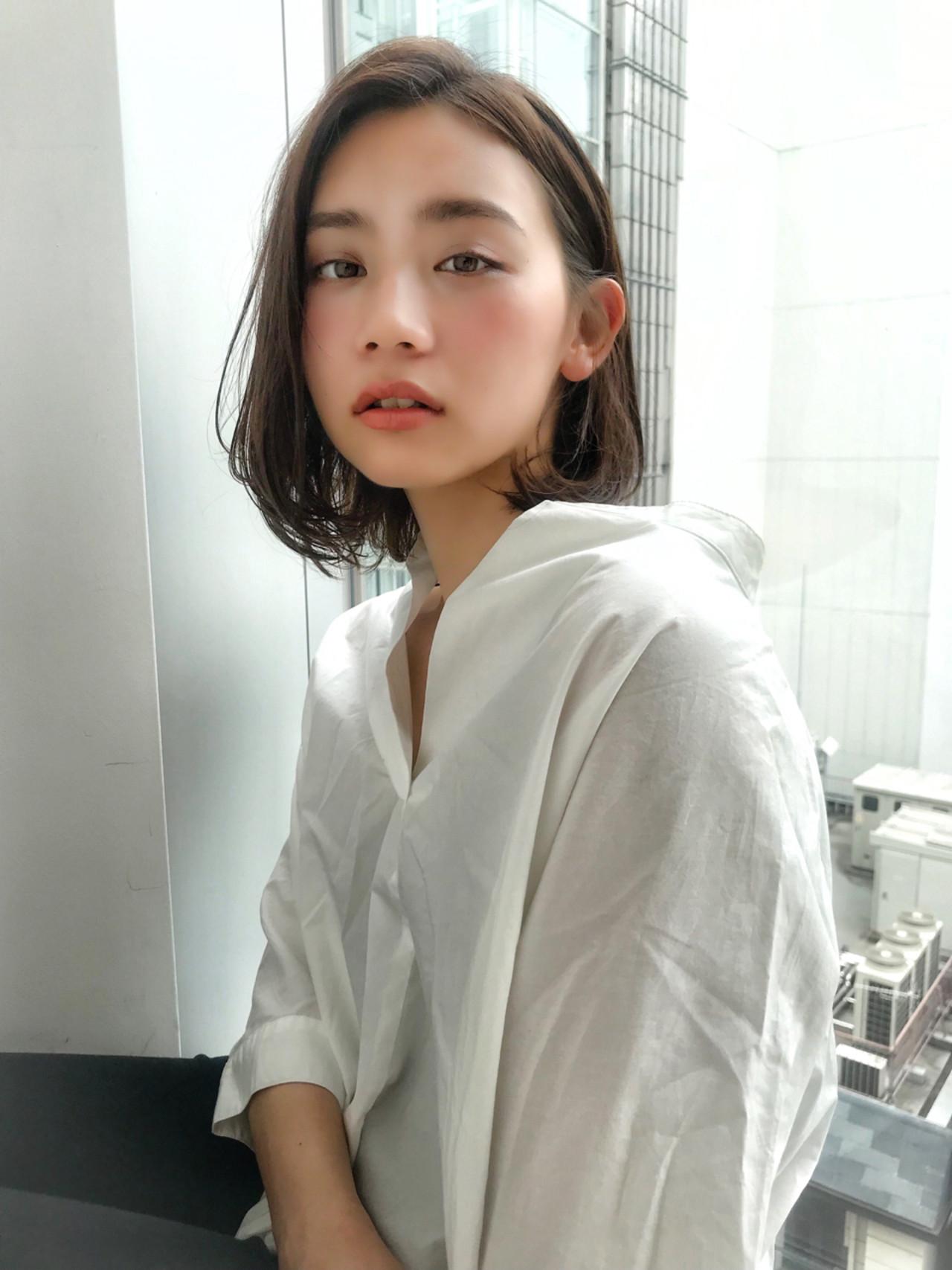 BBQ ナチュラル オフィス ヘアアレンジ ヘアスタイルや髪型の写真・画像 | MANOHARU 新屋敷 / MANOHARU
