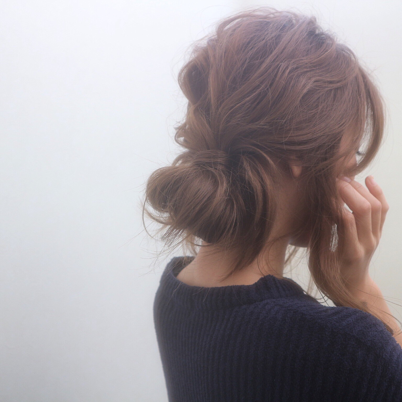 ナチュラル セミロング ゆるふわ 外国人風 ヘアスタイルや髪型の写真・画像   桑村亮太/CALIF hair store / 函館/CALIF hair store/キャリフ ヘアストア