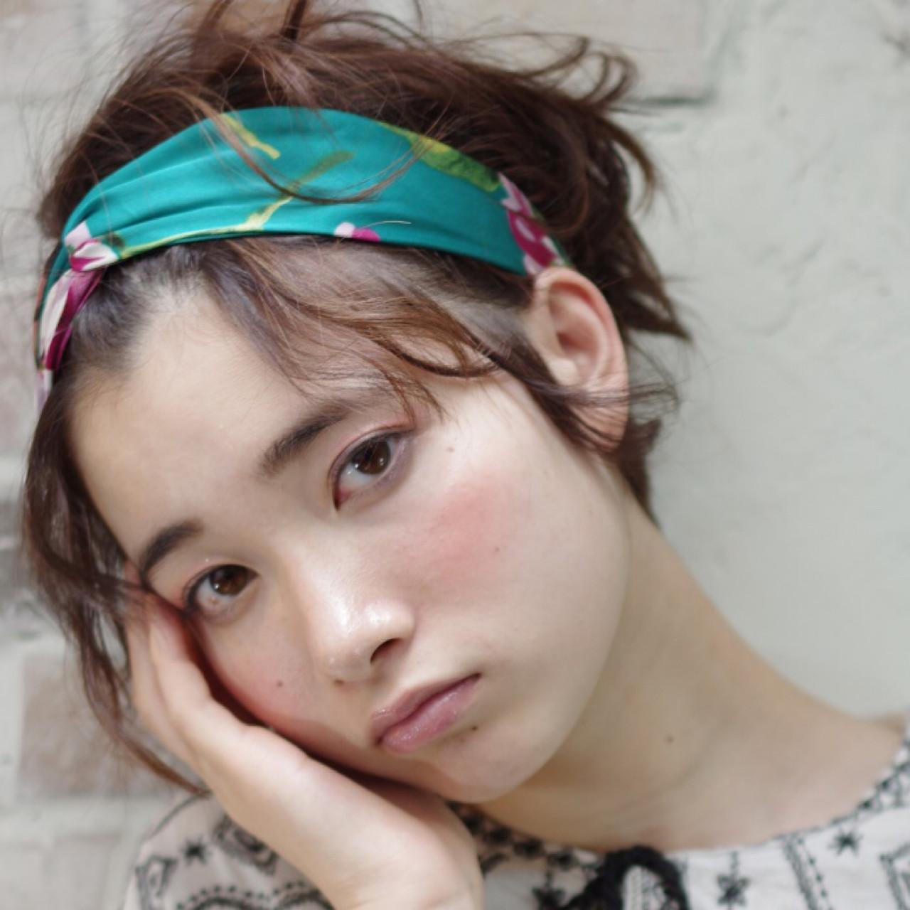 ピュア ハーフアップ フェミニン ストリートヘアスタイルや髪型の写真・画像