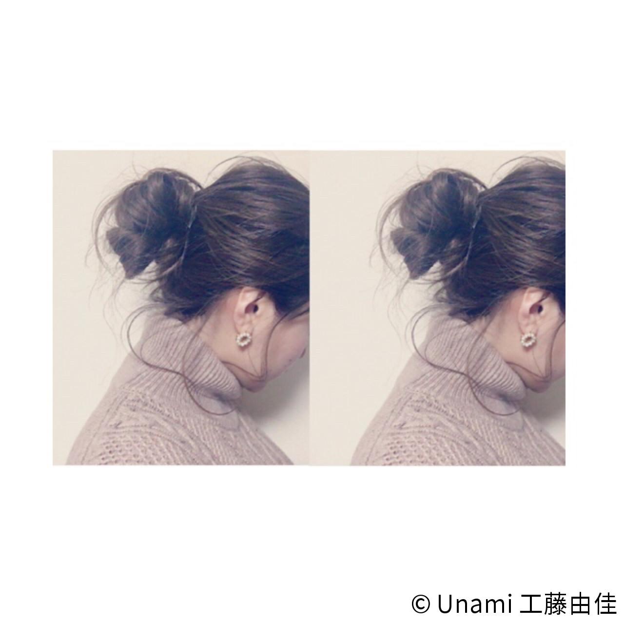 ゆるふわ ルーズ ショート ミディアム ヘアスタイルや髪型の写真・画像 | Unami 工藤由佳 / Unami omotesando