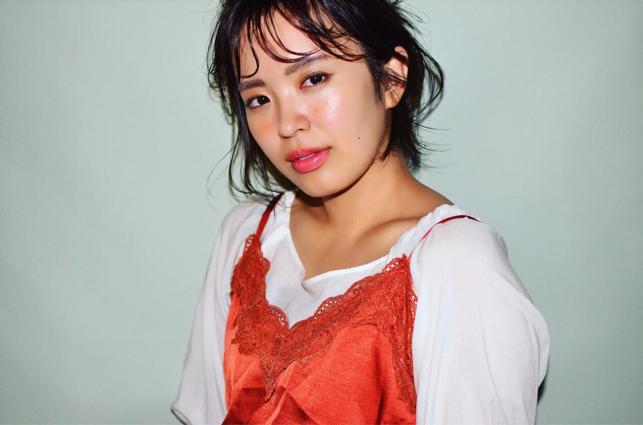 アウトドア オフィス ナチュラル デート ヘアスタイルや髪型の写真・画像   YUJI / LIICHI / LIICHI (リイチ)