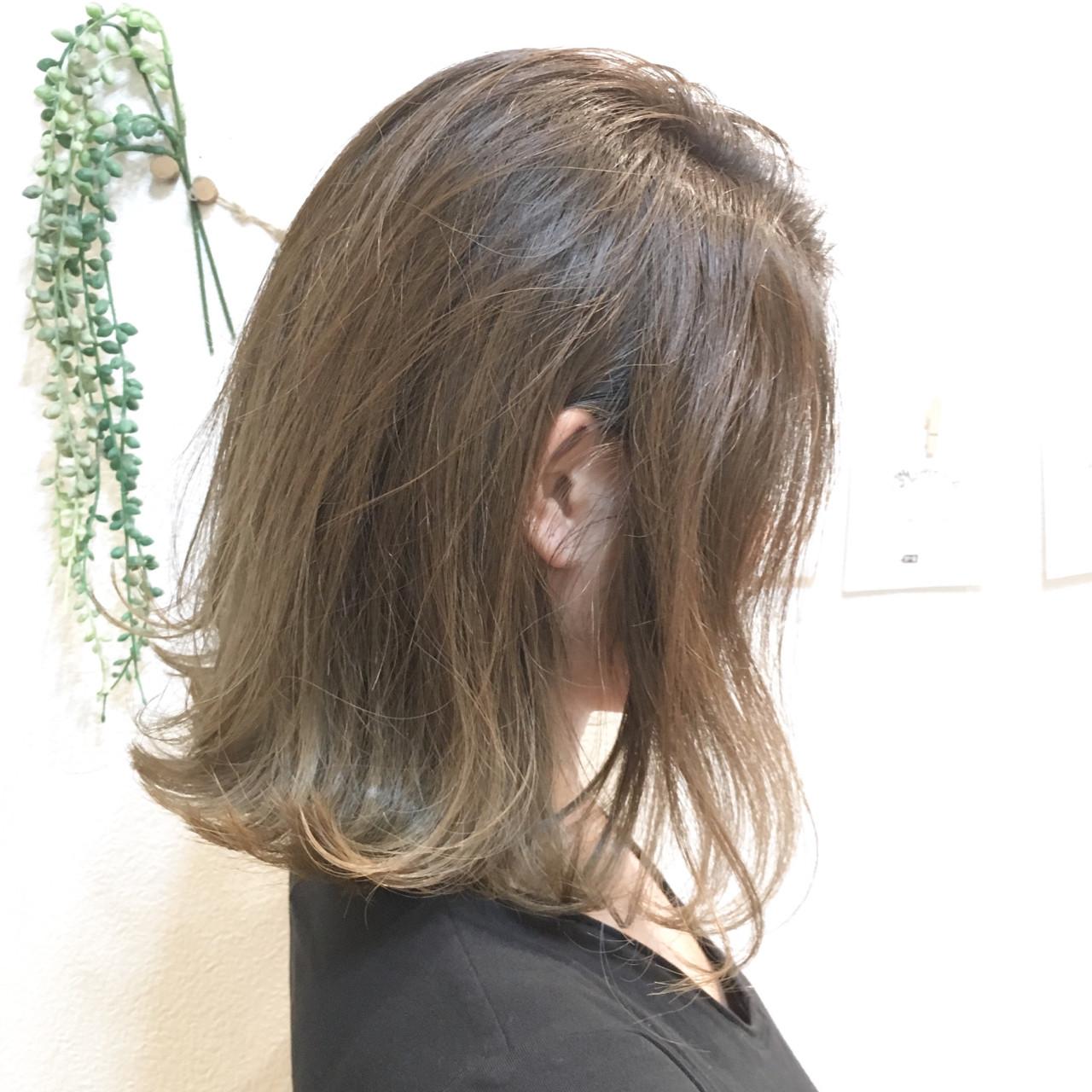 外国人風カラー グラデーションカラー デート ボブ ヘアスタイルや髪型の写真・画像   島田 雅斗 / hair design acoustic