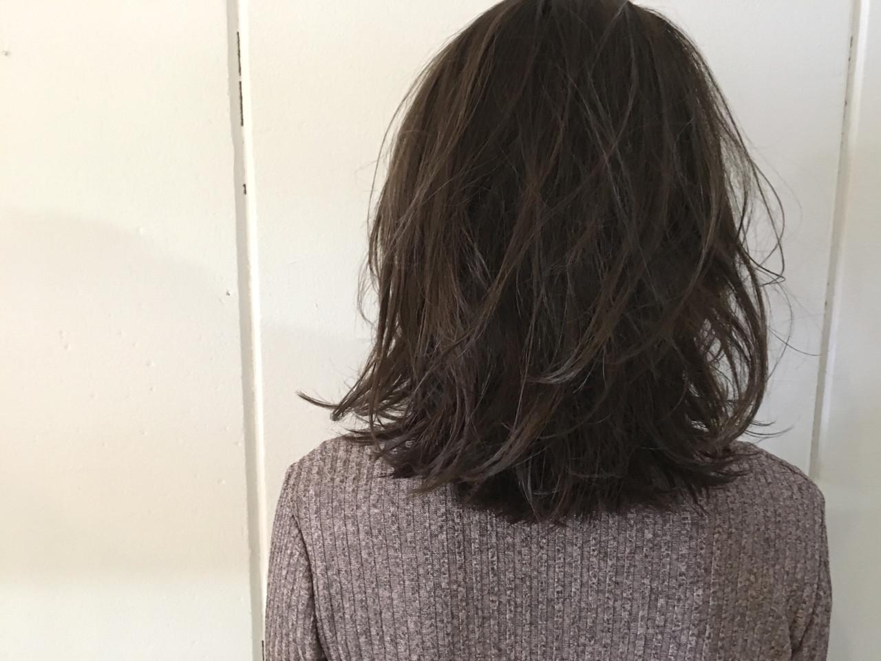 ナチュラル ミディアム アッシュ 外国人風 ヘアスタイルや髪型の写真・画像 | 杉谷 将也 / DiLL / DiLL