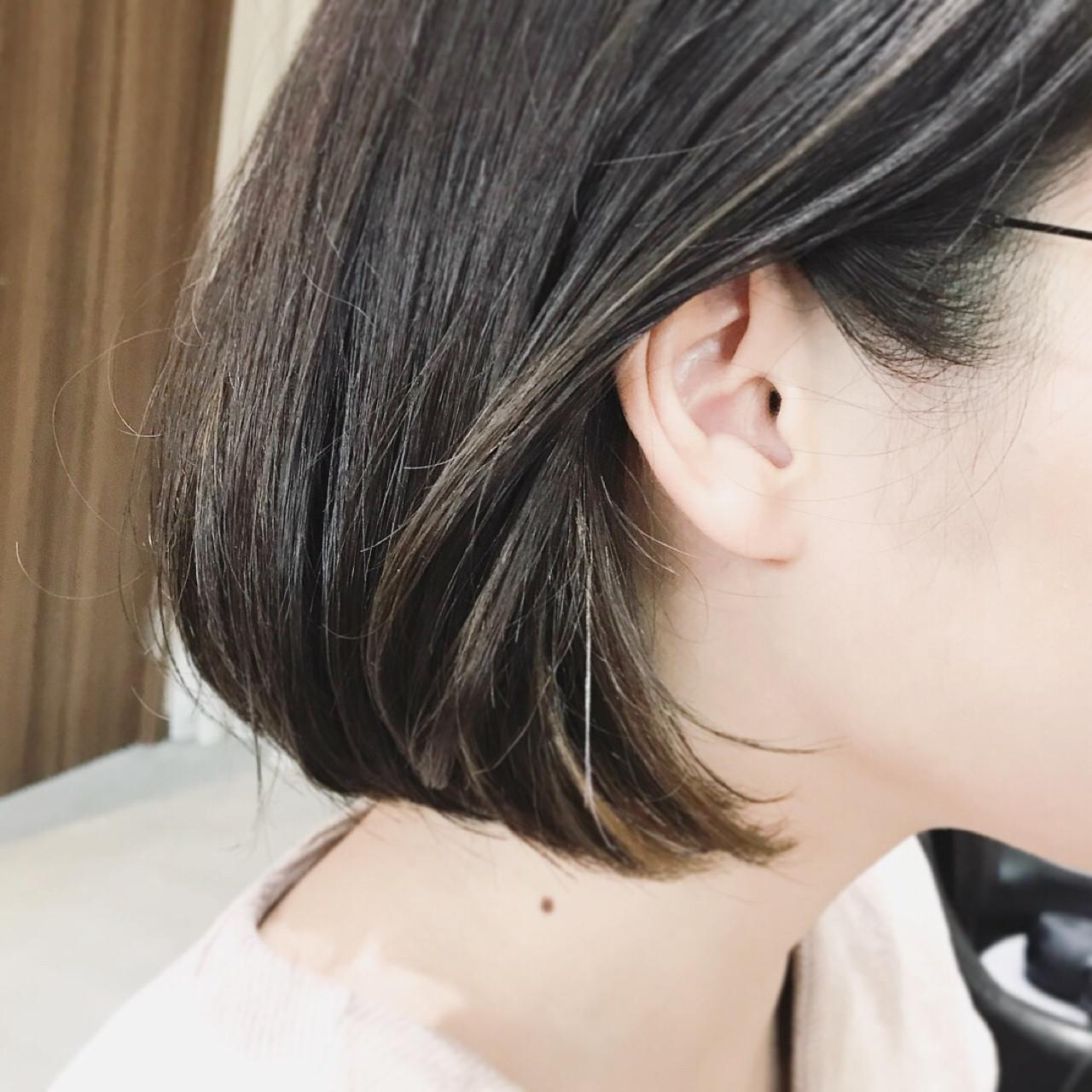 アンニュイ モード ハイライト ローライト ヘアスタイルや髪型の写真・画像   TOMOKO KUDO / IKKA