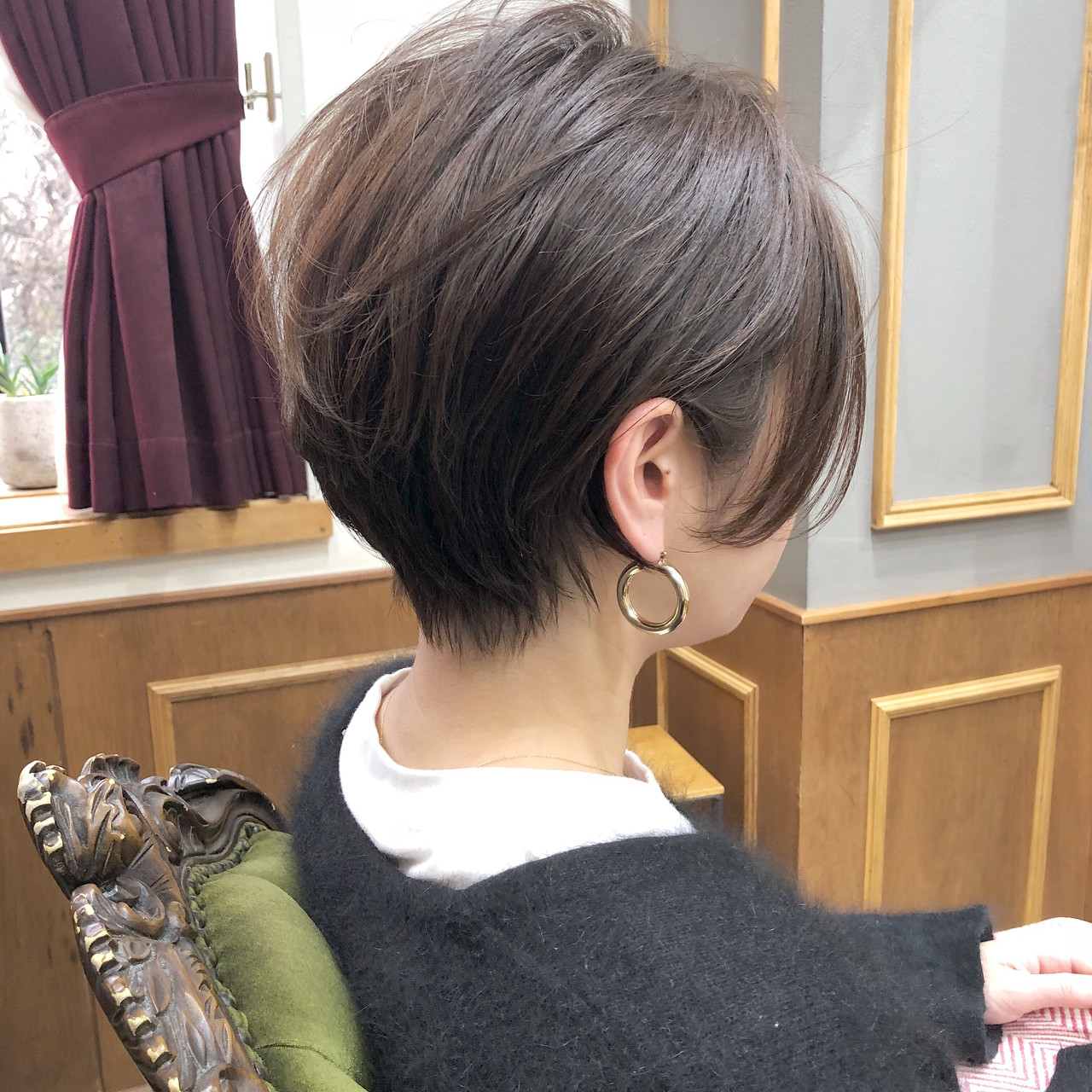 ベリーショート マッシュショート ショートボブ ショート ヘアスタイルや髪型の写真・画像 | 高田 興 / レジーロ