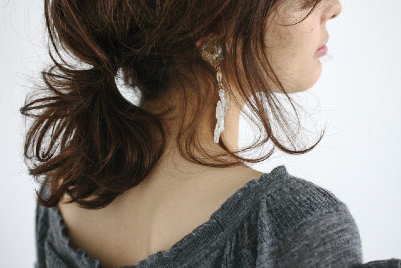 ゆるふわ 大人かわいい ナチュラル ヘアアレンジ ヘアスタイルや髪型の写真・画像   石川 琴允 /
