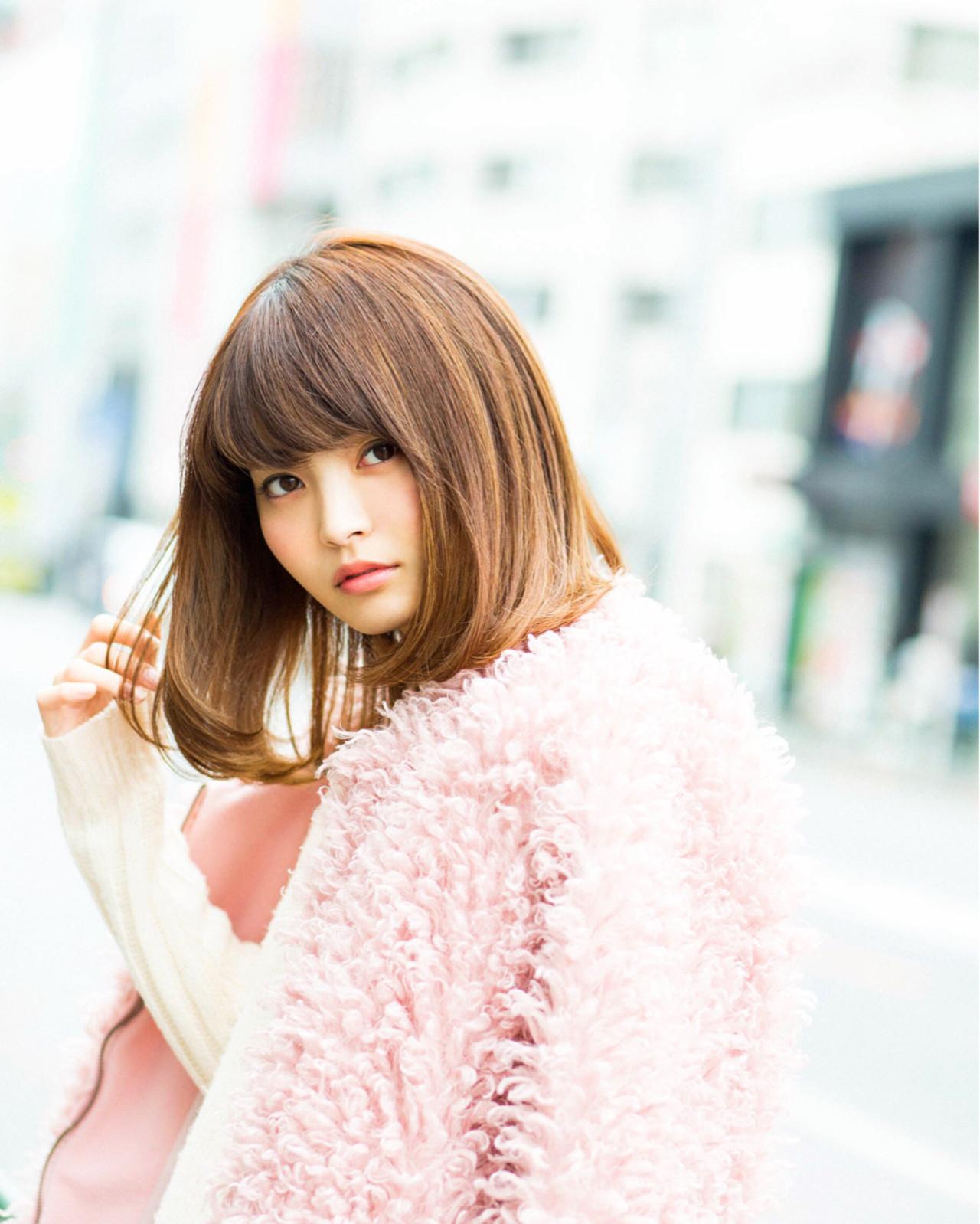 小顔 ガーリー 色気 ゆるふわ ヘアスタイルや髪型の写真・画像   松永拓巳 / Noz Harajuku
