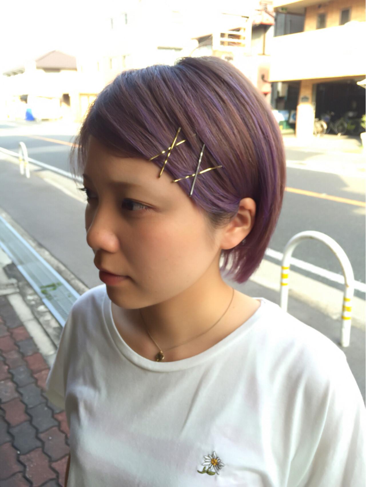 ラベンダーアッシュなあなたの髪色を旬に♪うっとり色落ちを楽しもう Tatsuo Araki / Slow