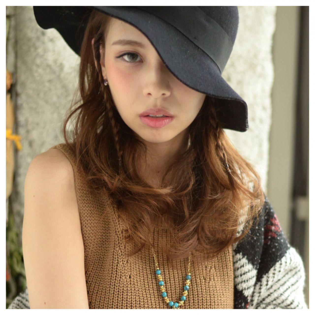 ハットの使い方、もっと知りたい。ヘアアレンジとの組み合わせ技がグッとくる♡ 中川 貴博 / Kate-Beaute