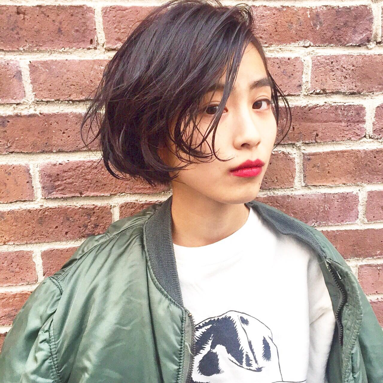 可愛いはショートで作るのが今どき♡ショートヘアまとめ 永井 美菜子 bibito