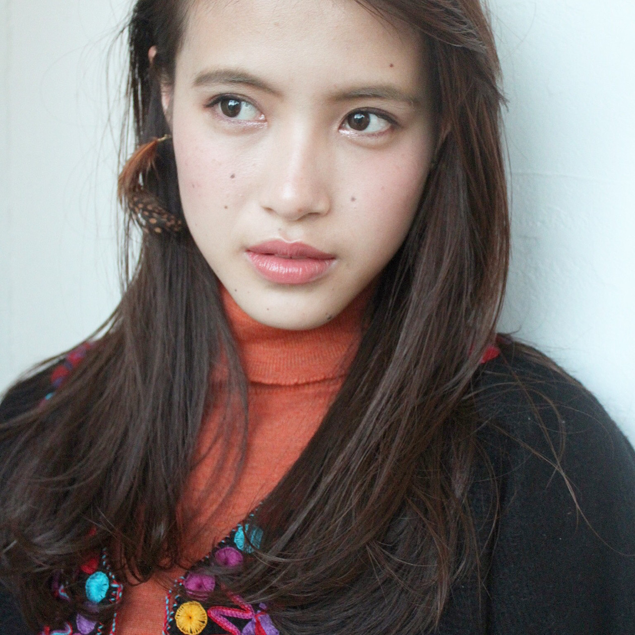 ナチュラル フェミニン ロング モード ヘアスタイルや髪型の写真・画像 | okubo shigeru / Salt hair