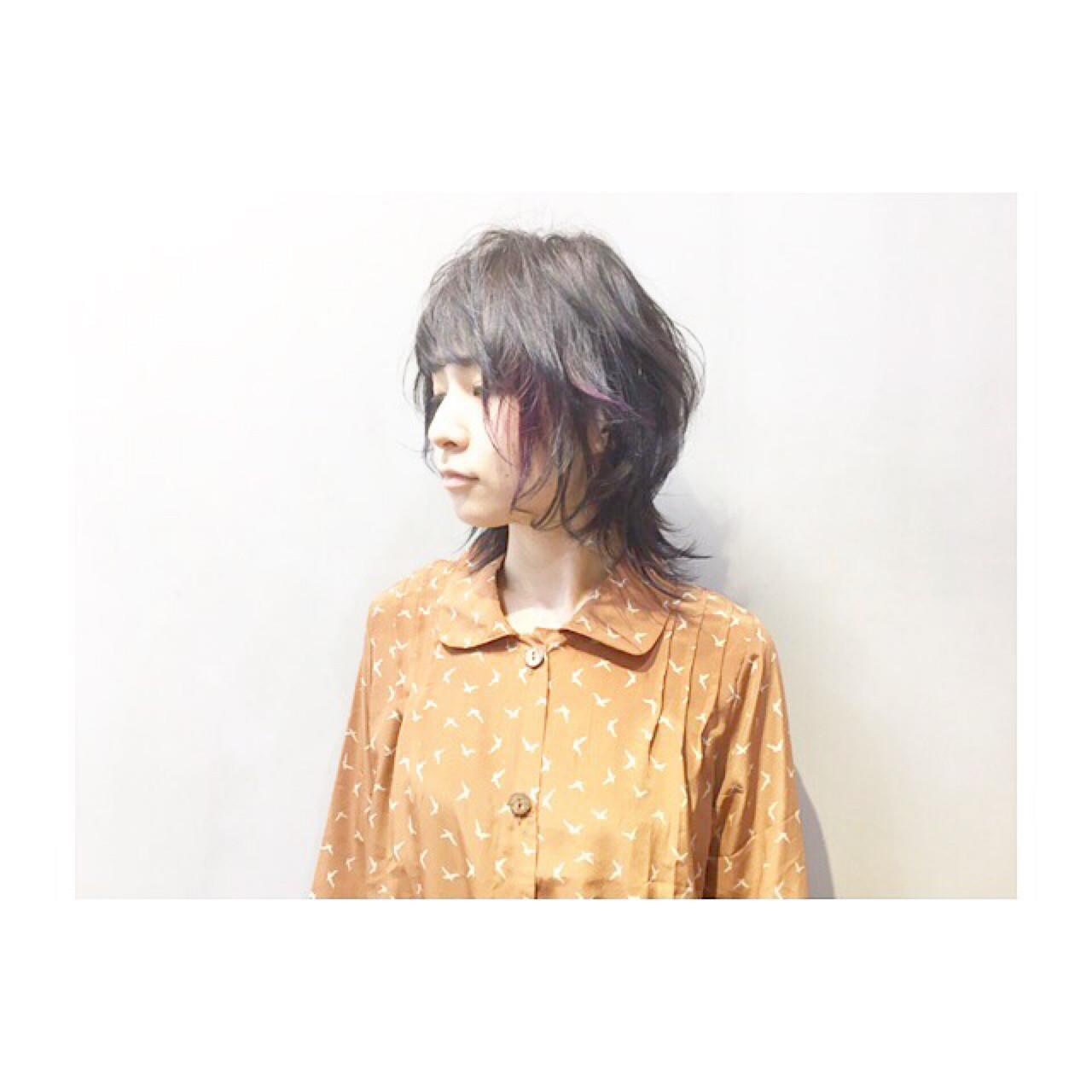 ブルージュ 暗髪 ナチュラル ブルー ヘアスタイルや髪型の写真・画像 | COM PASS 太一 / COM PASS