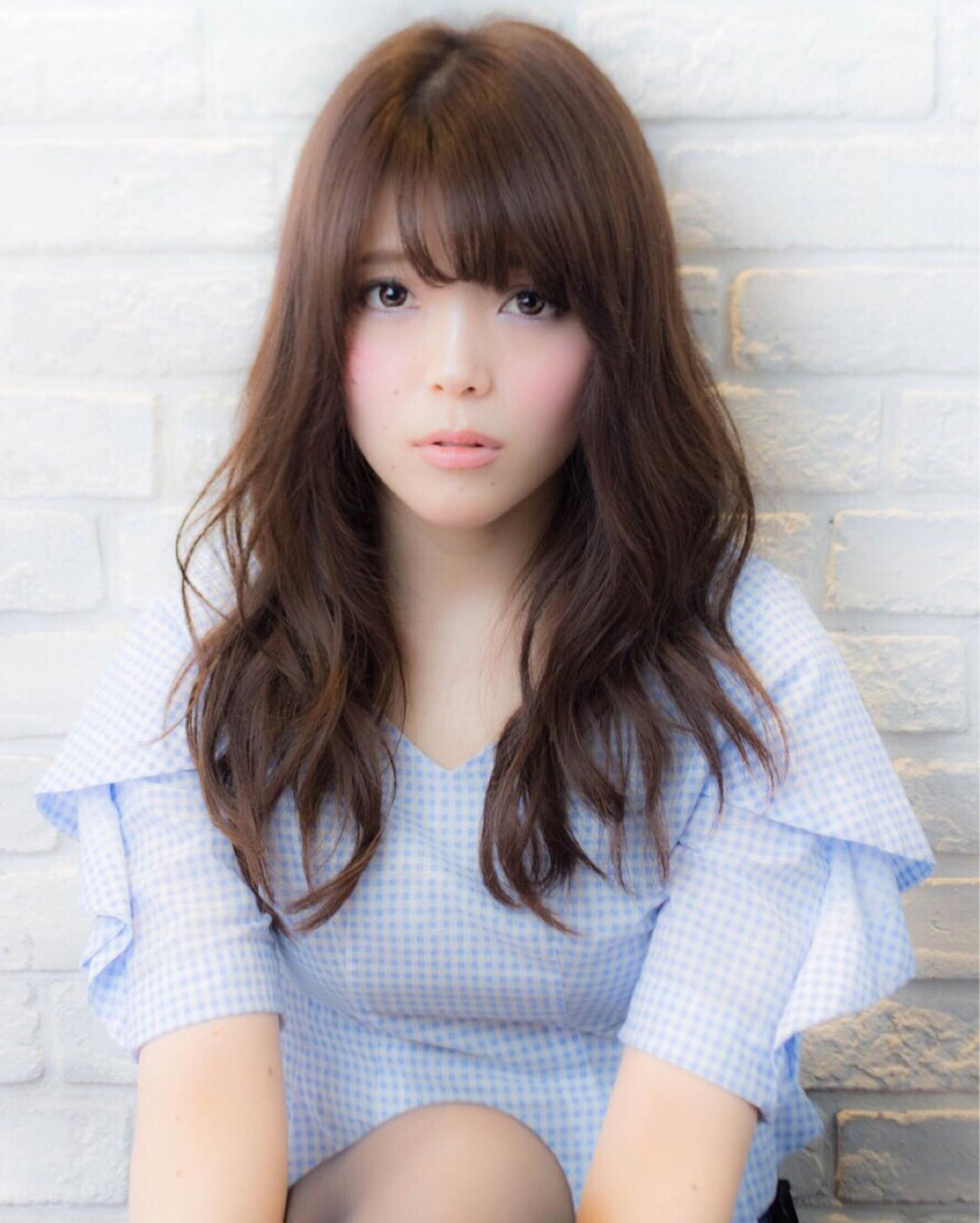 大人かわいい モテ髪 かわいい ナチュラルヘアスタイルや髪型の写真・画像