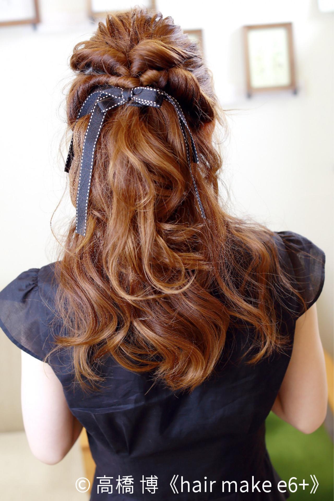 簡単可愛いくるりんぱのへアレンジ集!やり方・コツをご紹介♡ 高橋 博《hair make e6+》
