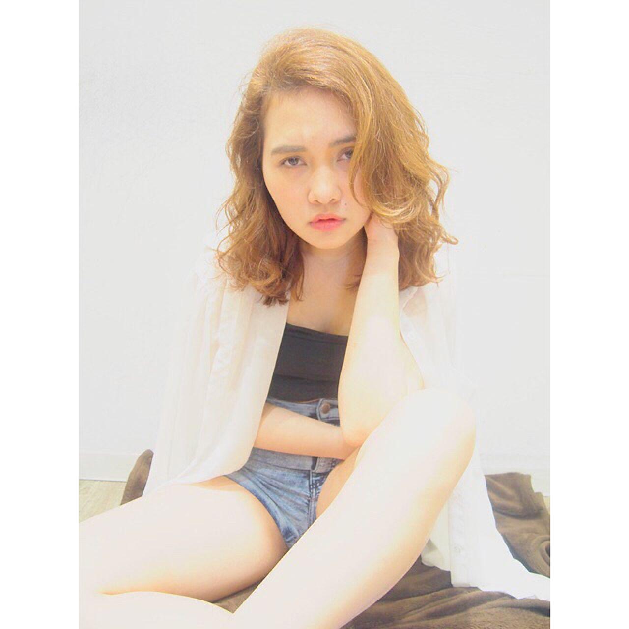 外国人風 モテ髪 ゆるふわ 春 ヘアスタイルや髪型の写真・画像 | Toda Hayaka / ♡♡♡