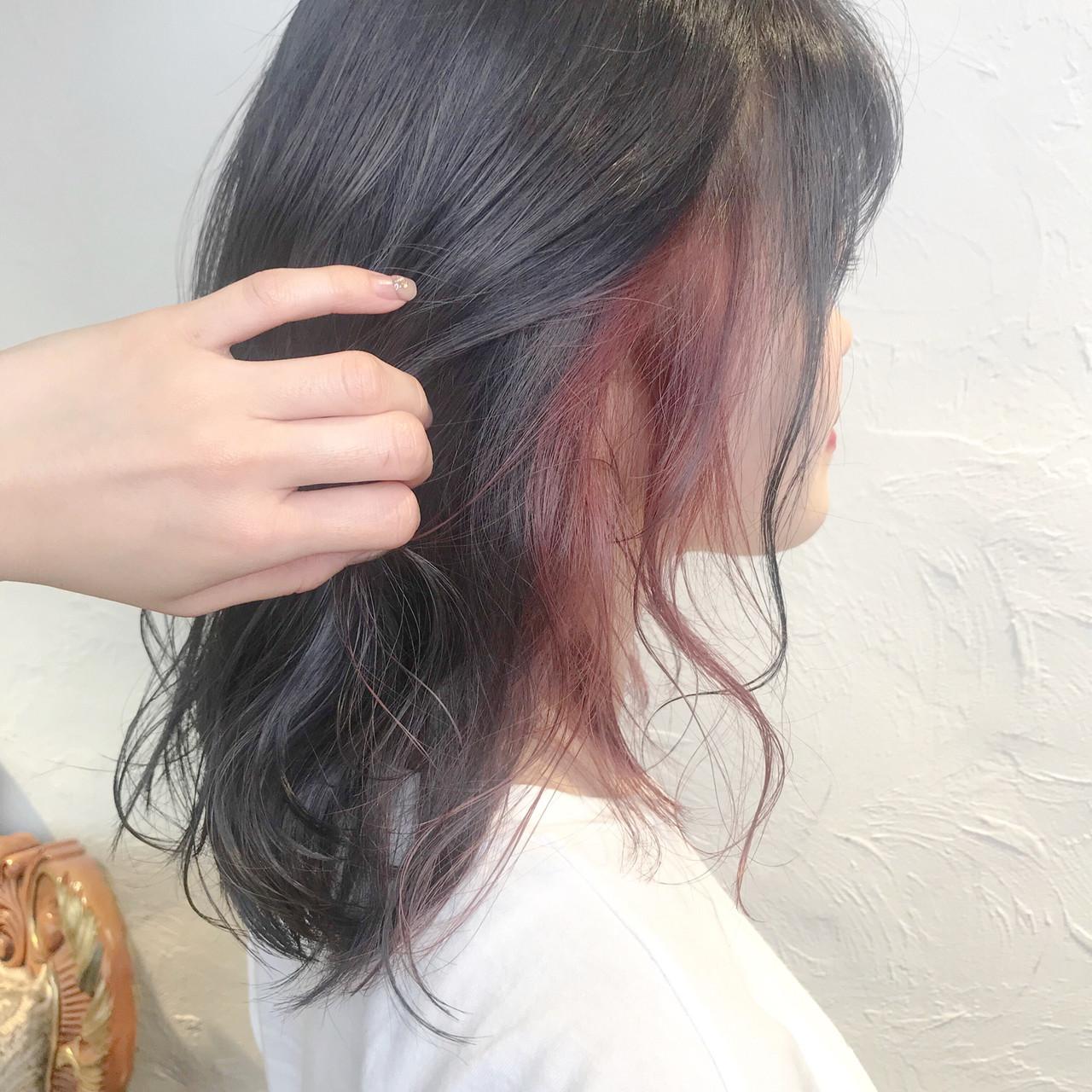 モード ミルクティーベージュ オレンジベージュ ミルクグレージュ ヘアスタイルや髪型の写真・画像 | aya / RITA&Co.大宮東口店