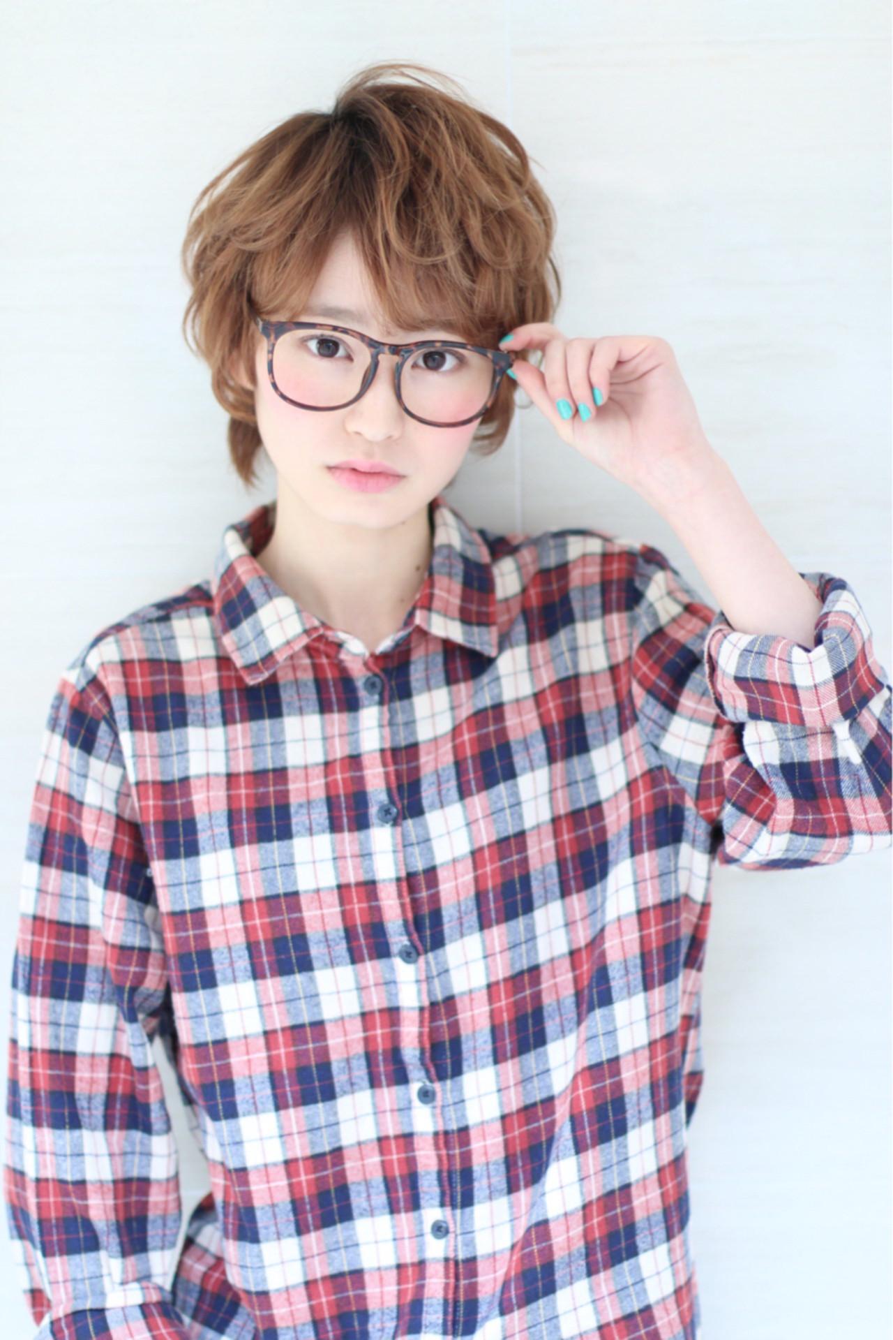 ショート 爽やか ピュア 外国人風 ヘアスタイルや髪型の写真・画像 | 神野 嘉之 / ORO豊中店