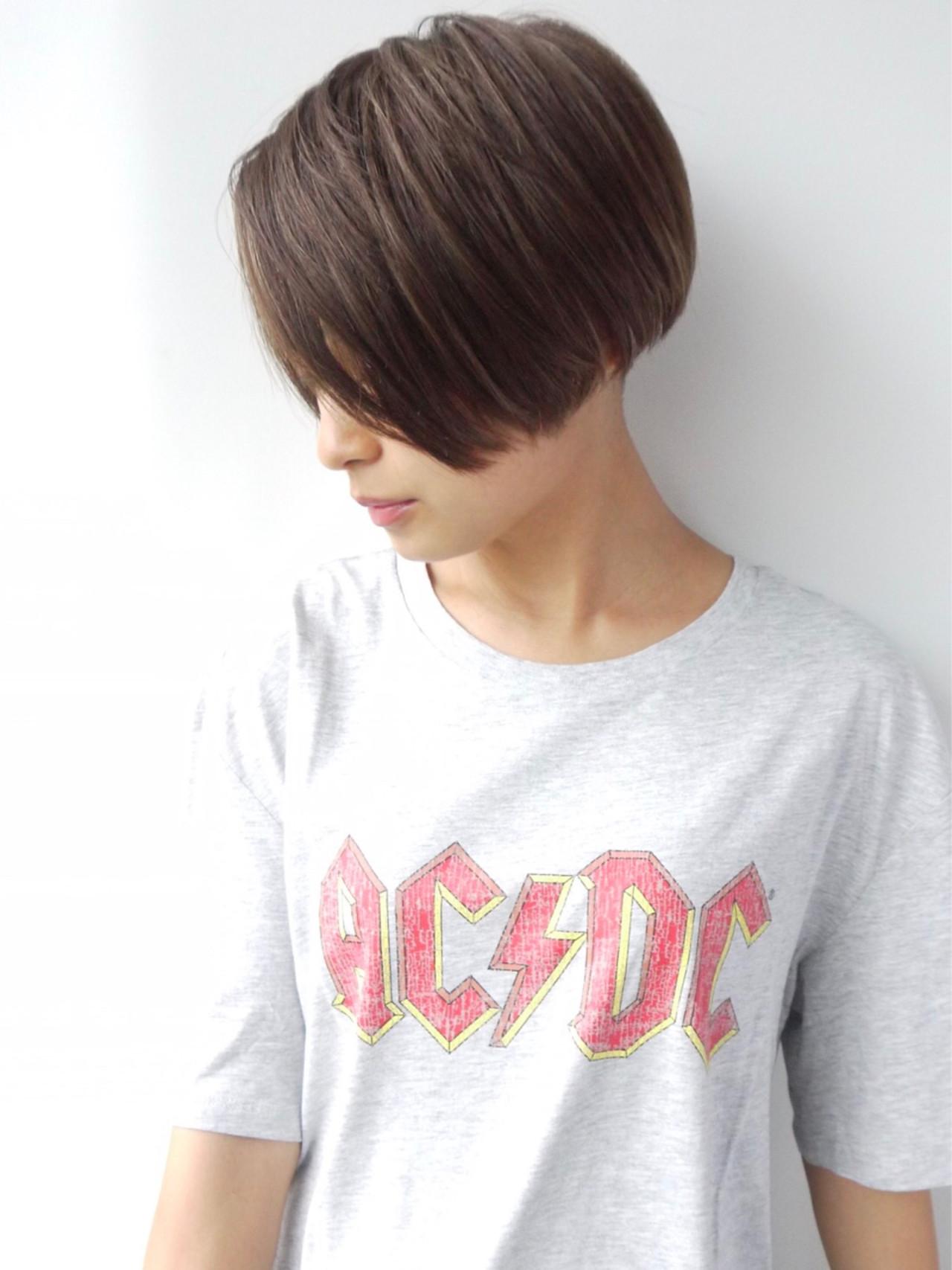 ナチュラル ショートボブ ボブ ショート ヘアスタイルや髪型の写真・画像 | 千葉正幸/morio / モリオフロムロンドン 原宿本店