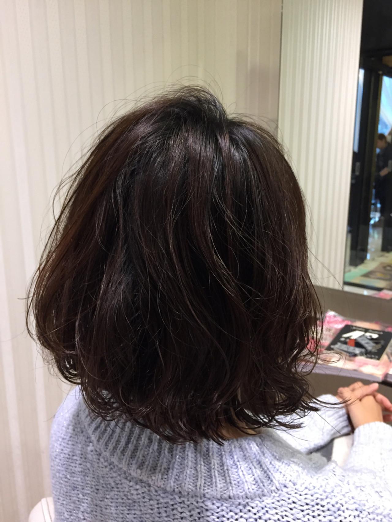 ワンカール デジタルパーマ ショート ナチュラル ヘアスタイルや髪型の写真・画像 | 和田 拓 / loren