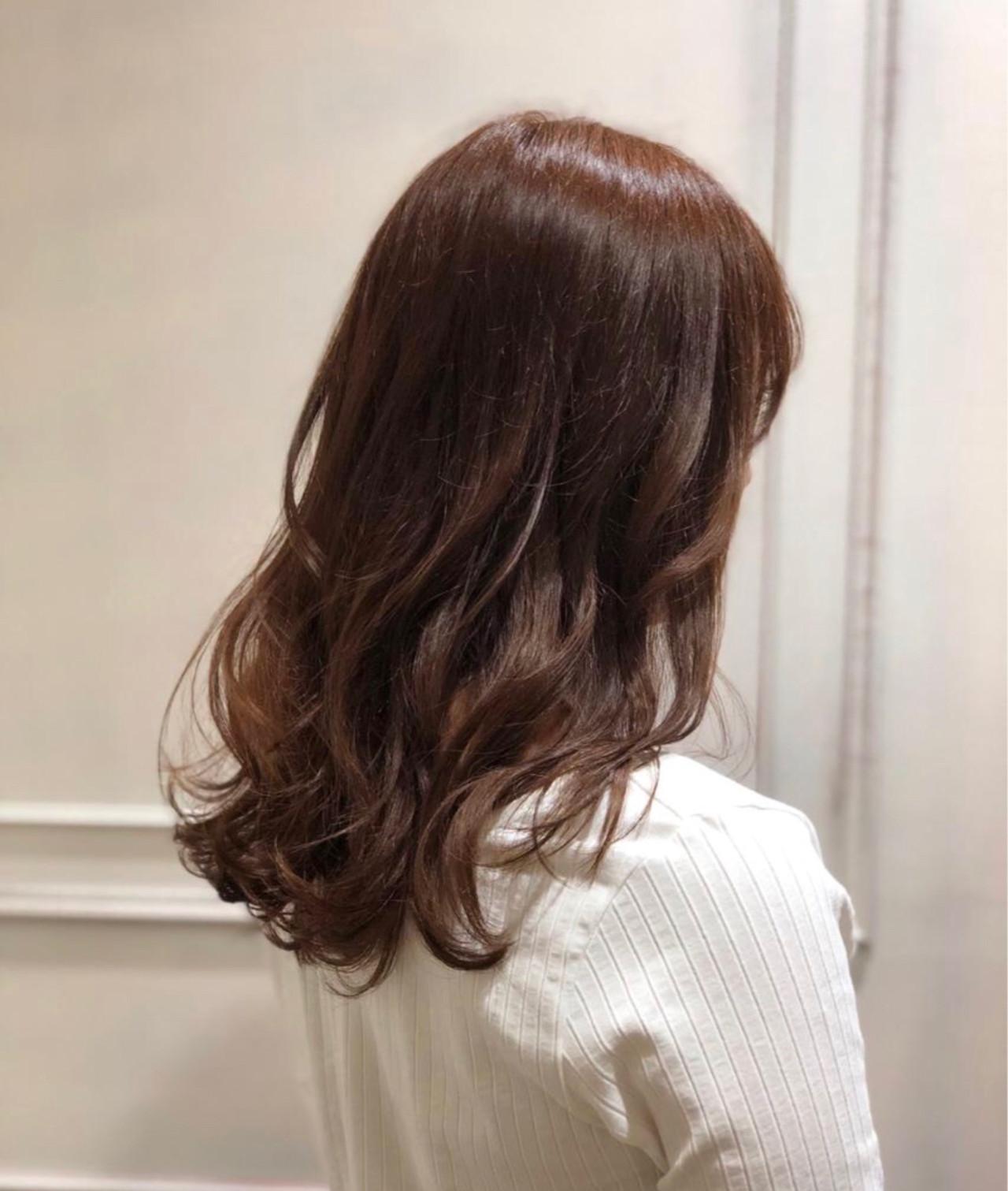 外国人風 かわいい ゆるふわ フェミニンヘアスタイルや髪型の写真・画像