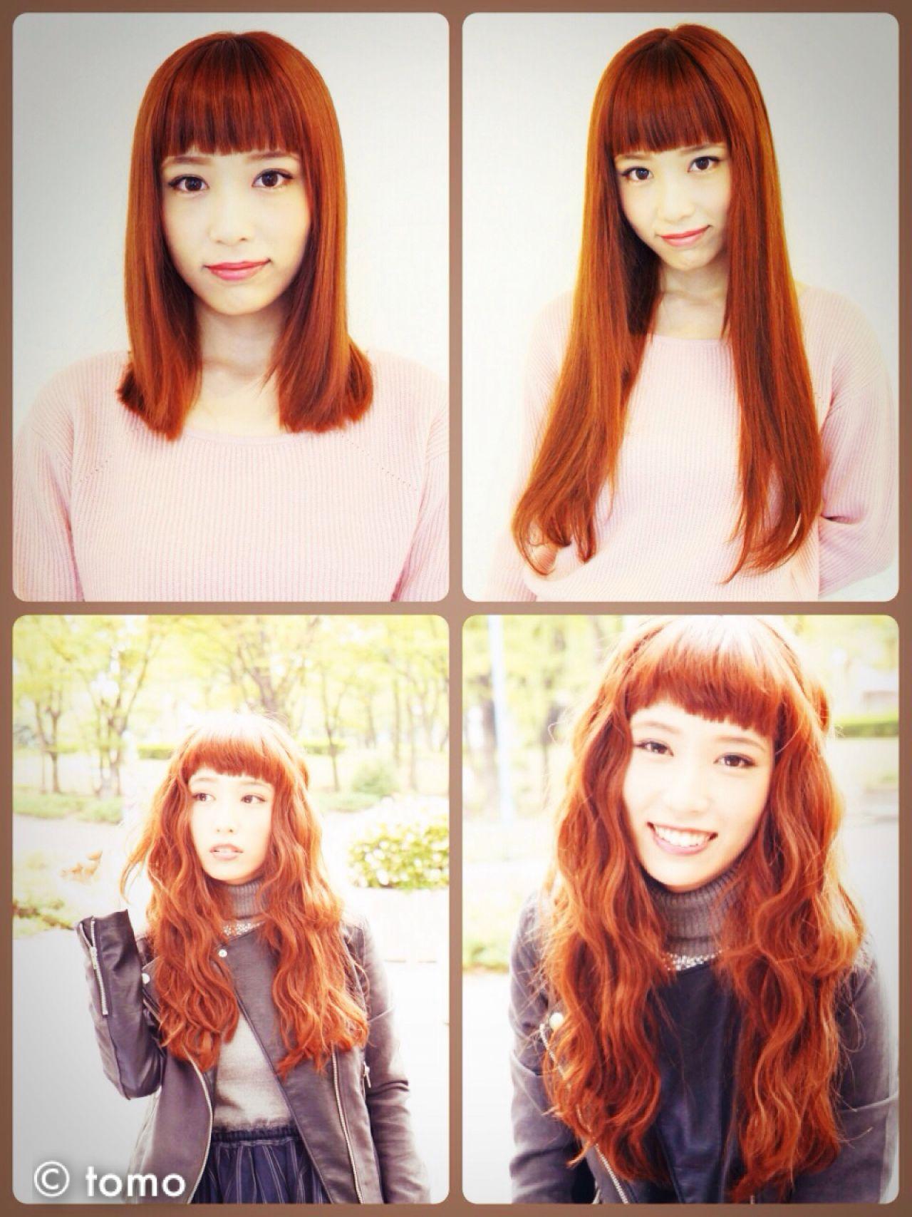 ロング エクステ ヘアスタイルや髪型の写真・画像   tomo / カット・エクステ専門店 STUDIO FUTURO
