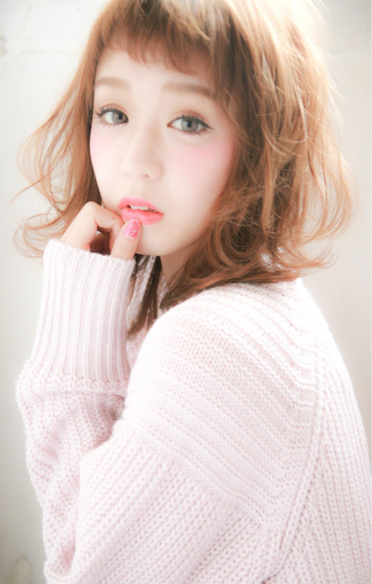ヘアアレンジ フェミニン 色気 ミディアム ヘアスタイルや髪型の写真・画像 | 佐藤 章太 / Heartim代官山